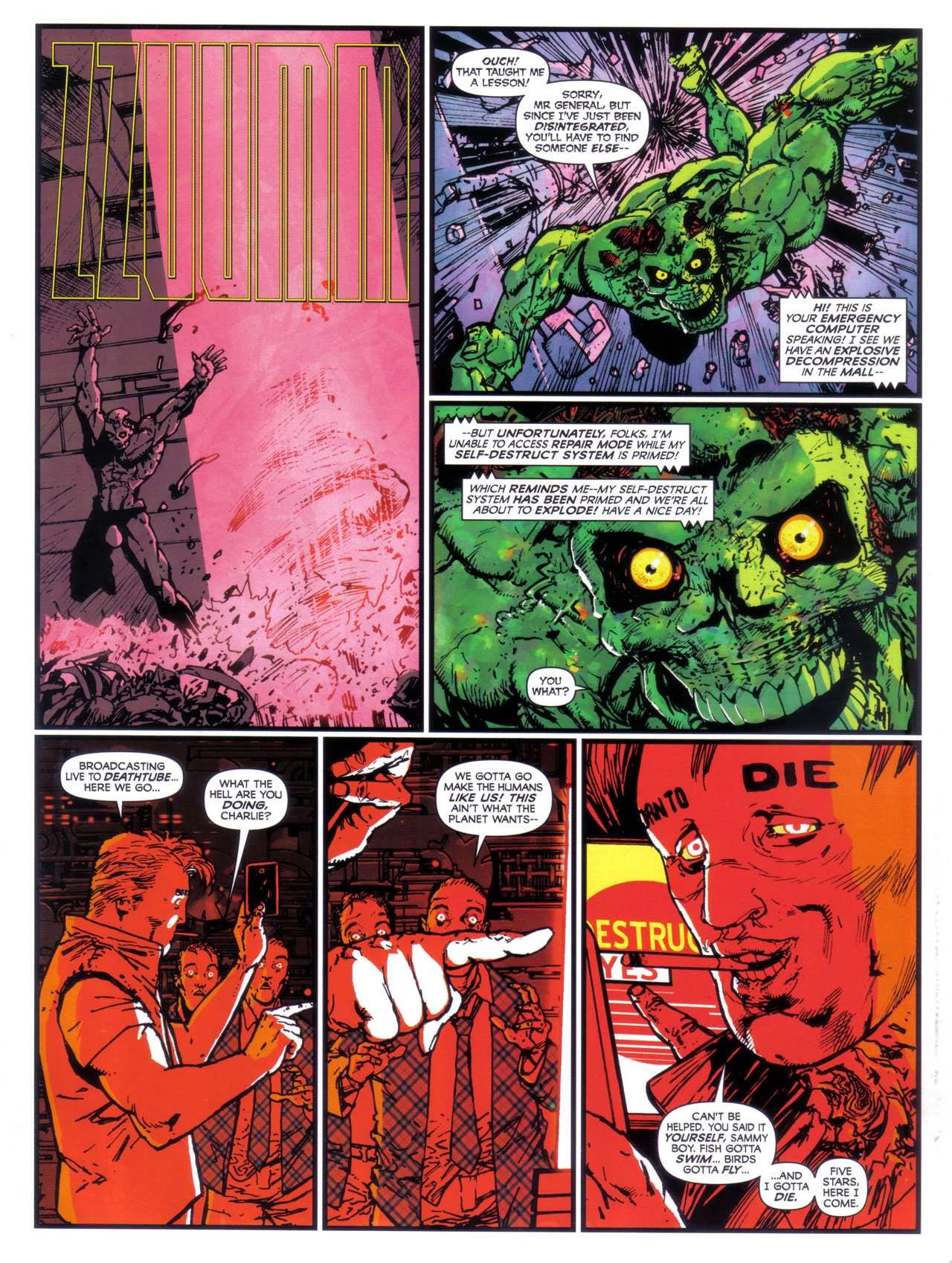 Read online 2000 AD comic -  Issue #1746 - 88