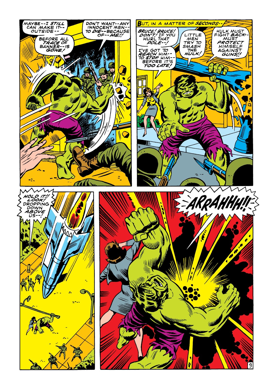 Read online Marvel Masterworks: The Incredible Hulk comic -  Issue # TPB 5 (Part 1) - 78