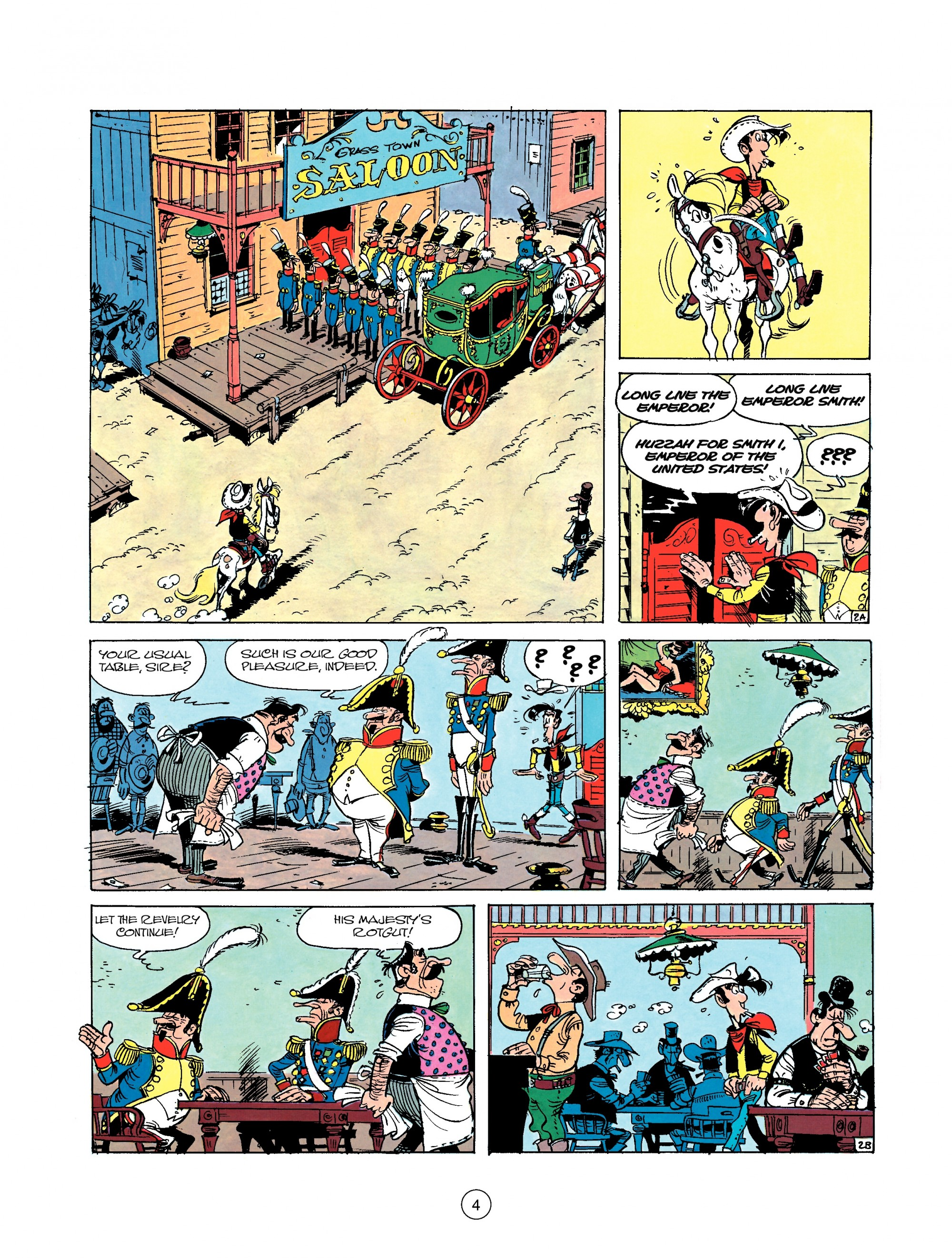 Read online A Lucky Luke Adventure comic -  Issue #22 - 4