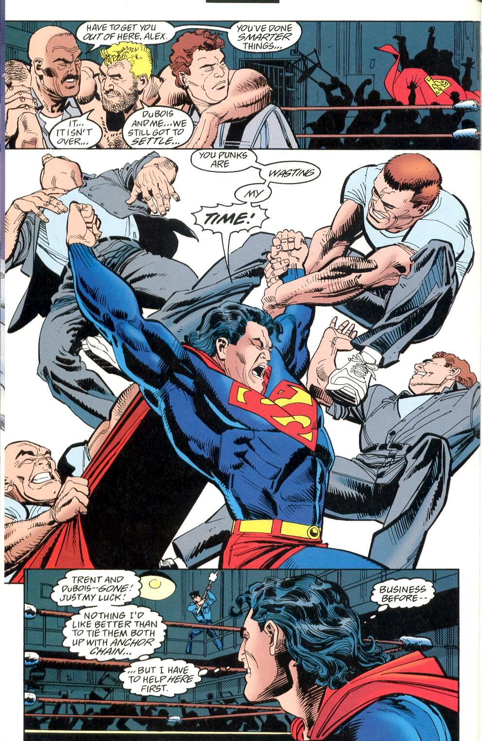 Read online Adventures of Superman (1987) comic -  Issue #526 - 13