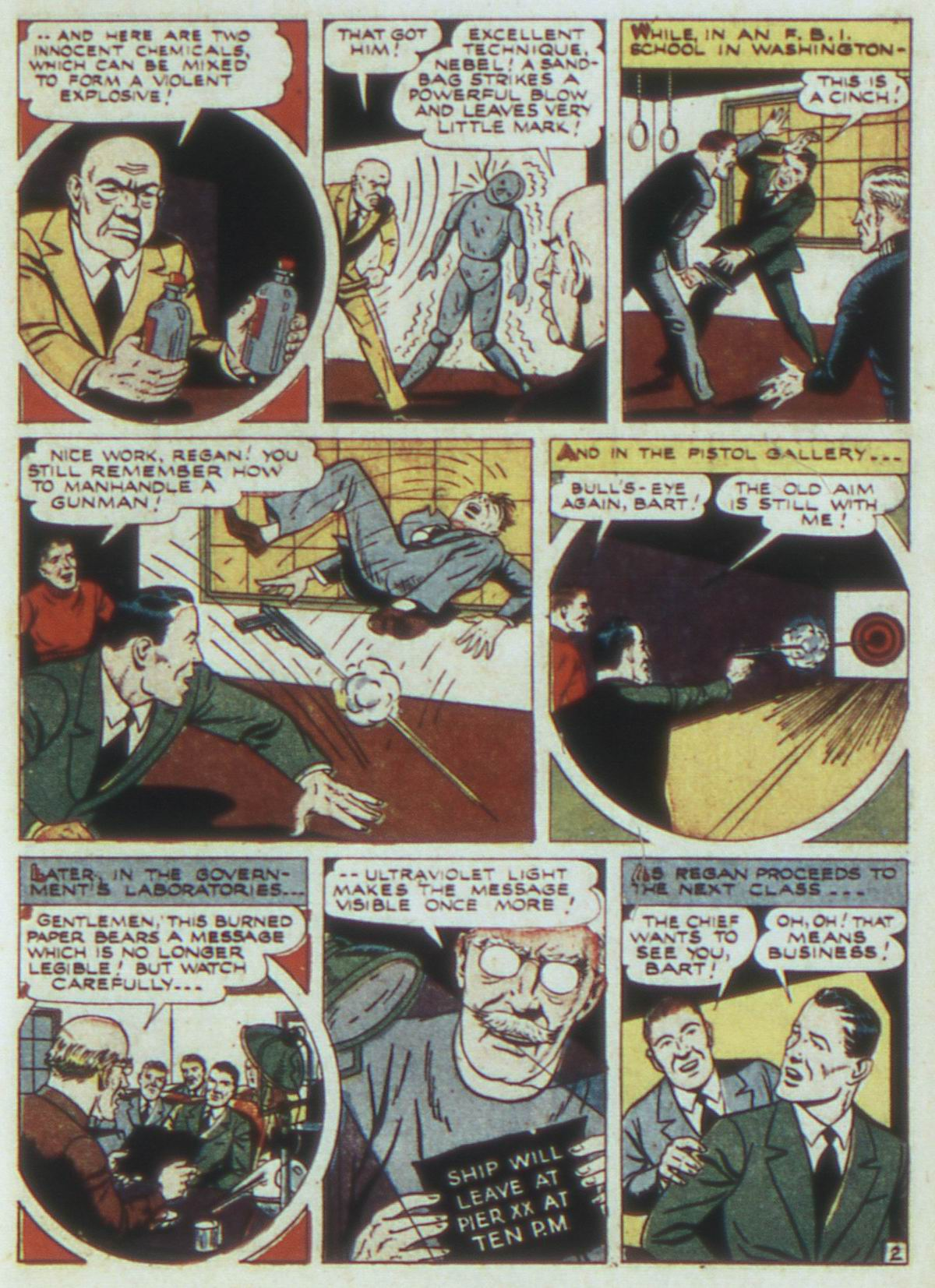 Read online Detective Comics (1937) comic -  Issue #82 - 33