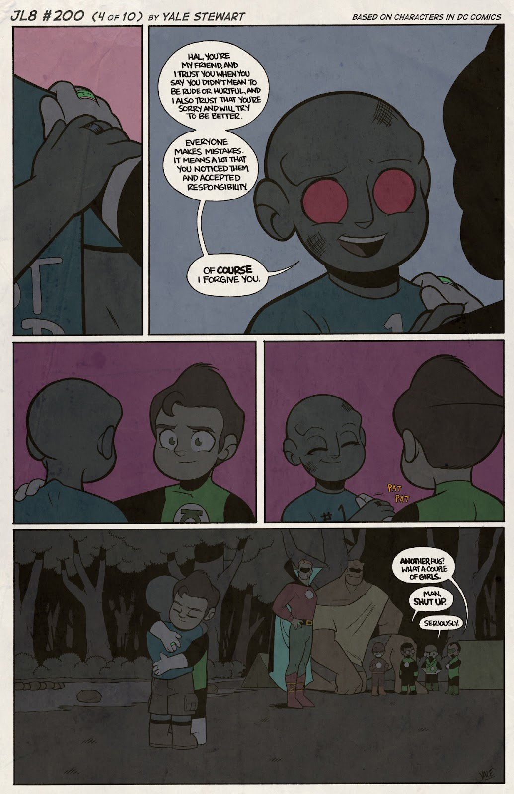 Read online JL8 – The Complete Collection comic -  Issue # TPB (Part 2) - 27