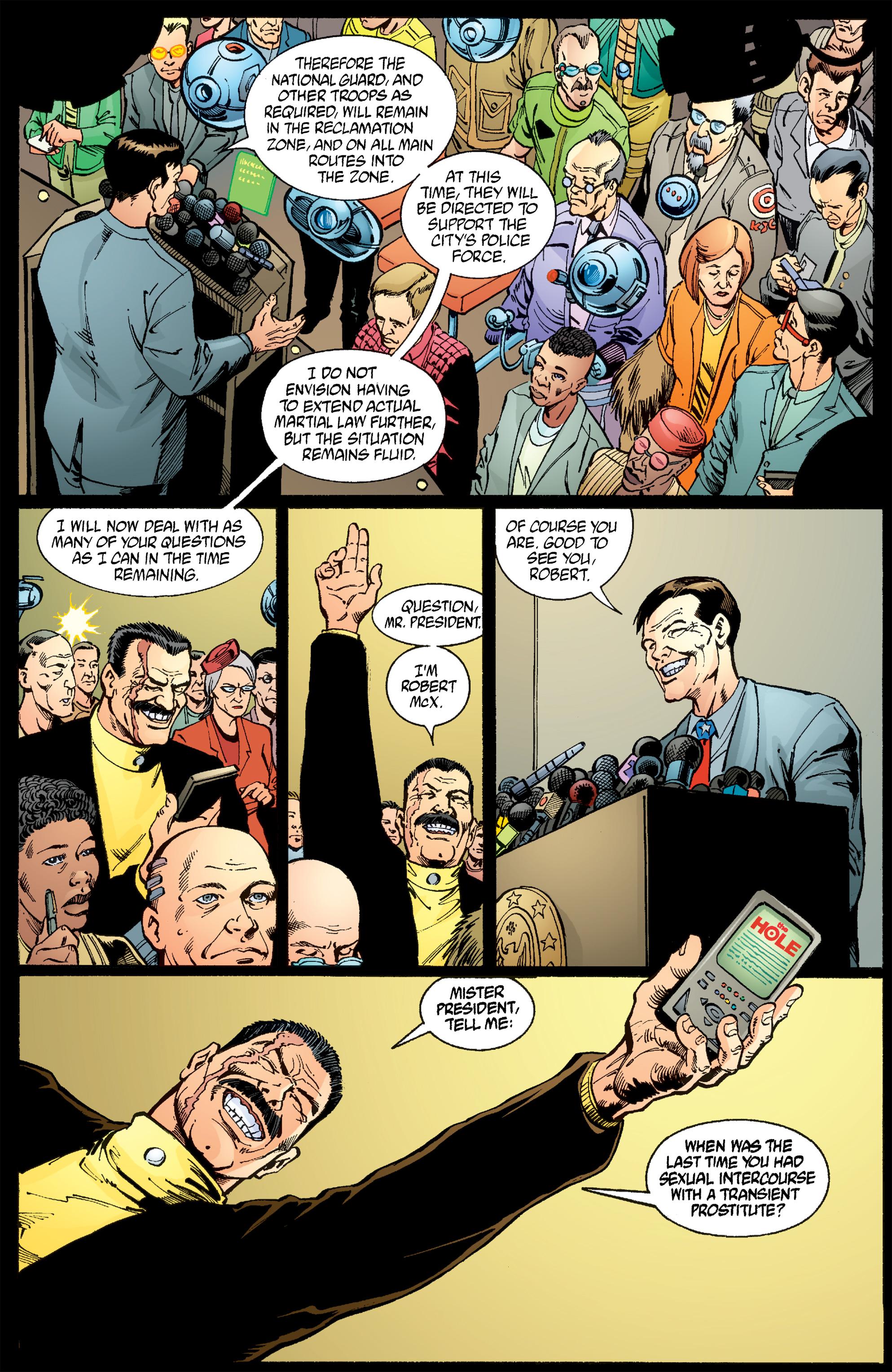 Read online Transmetropolitan comic -  Issue #54 - 22