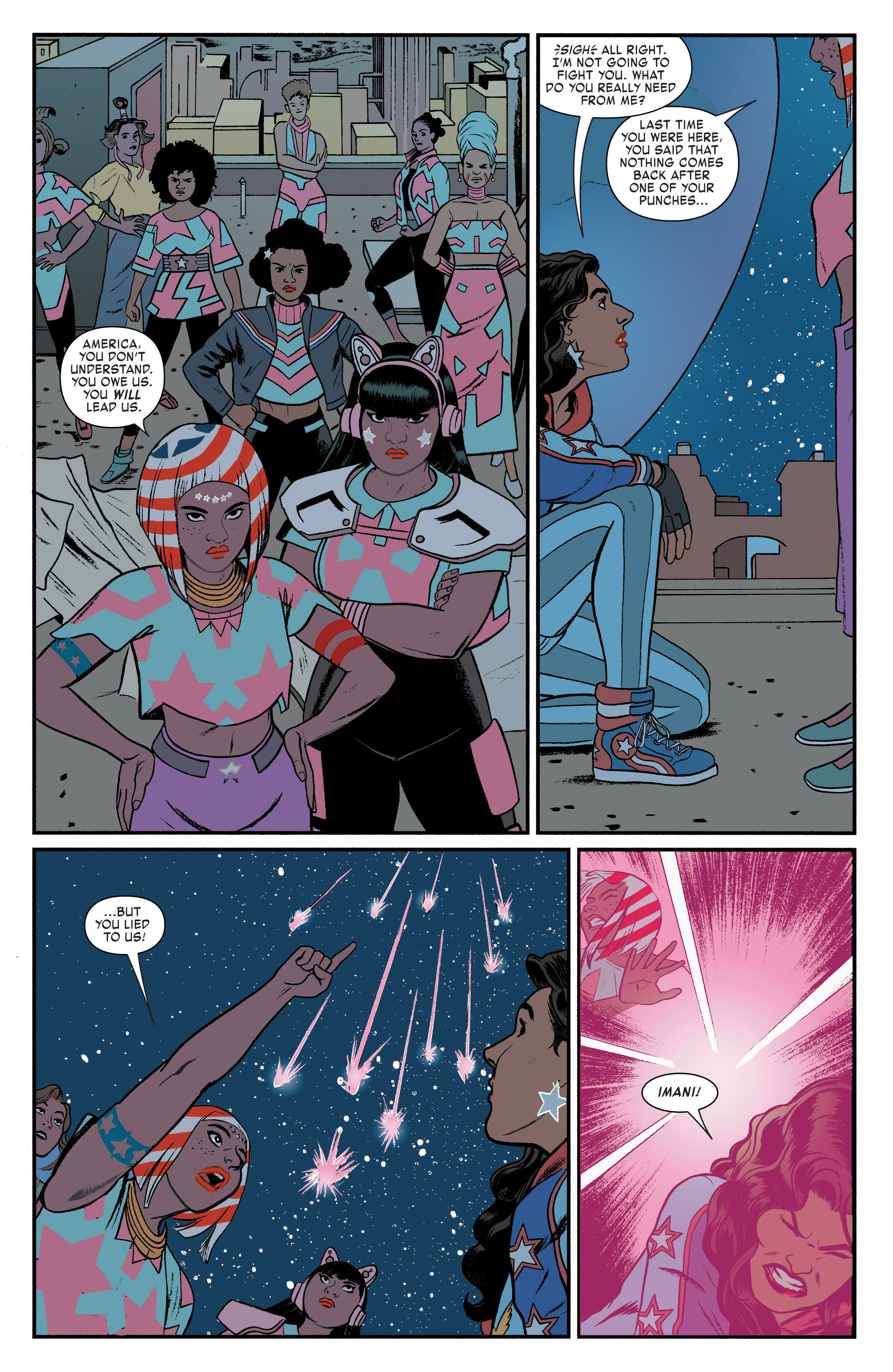 Read online America (2017) comic -  Issue #3 - 16
