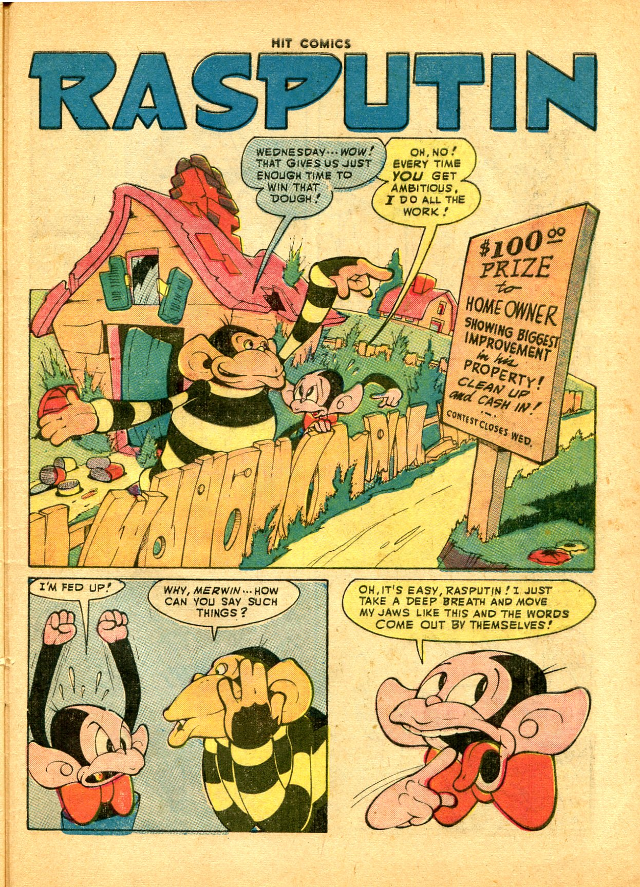 Read online Hit Comics comic -  Issue #49 - 45