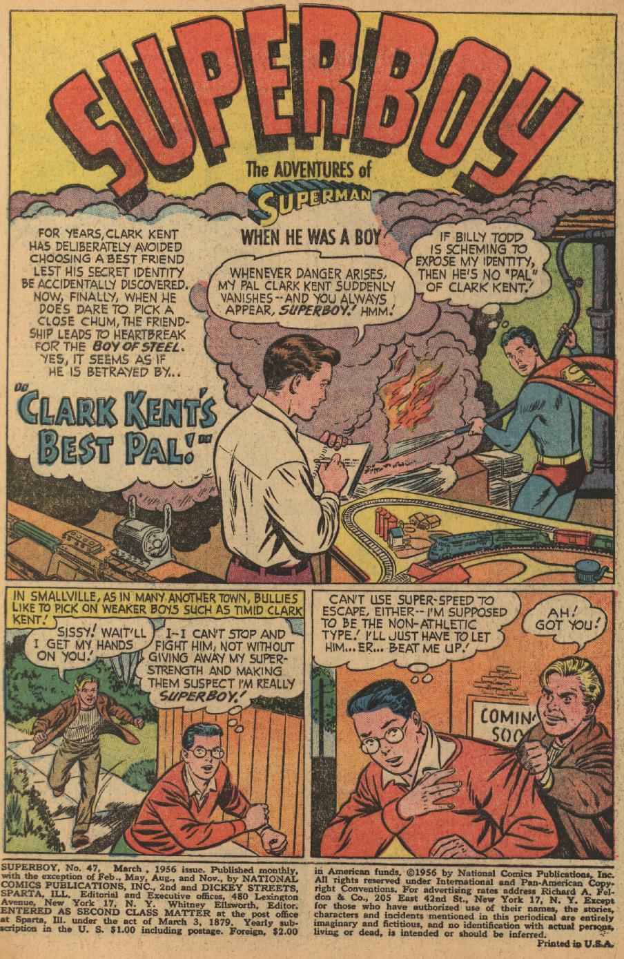 Superboy (1949) issue 47 - Page 2
