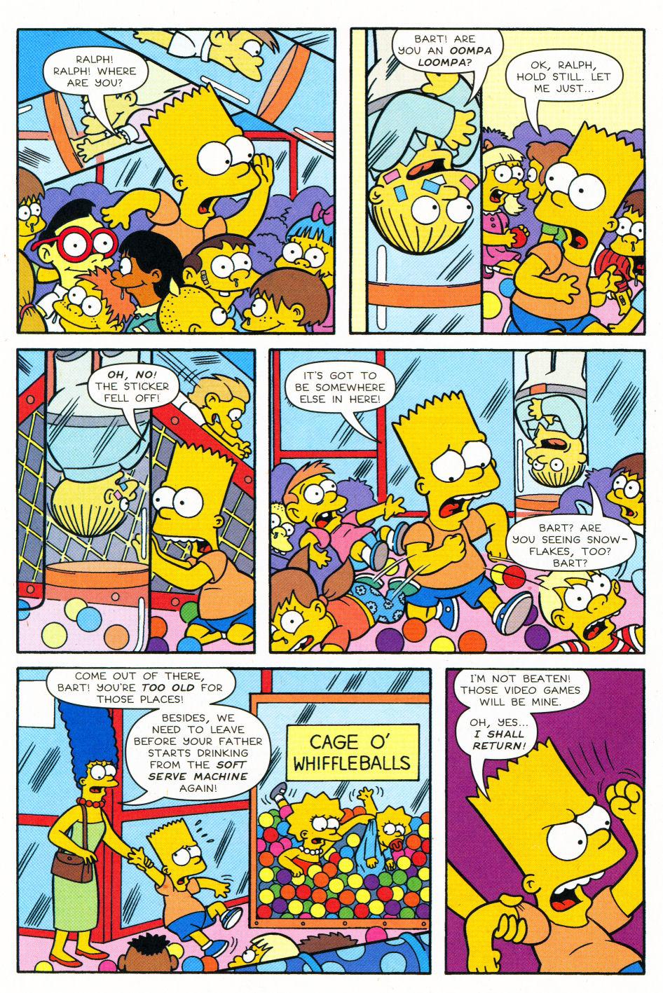 Read online Simpsons Comics Presents Bart Simpson comic -  Issue #27 - 23