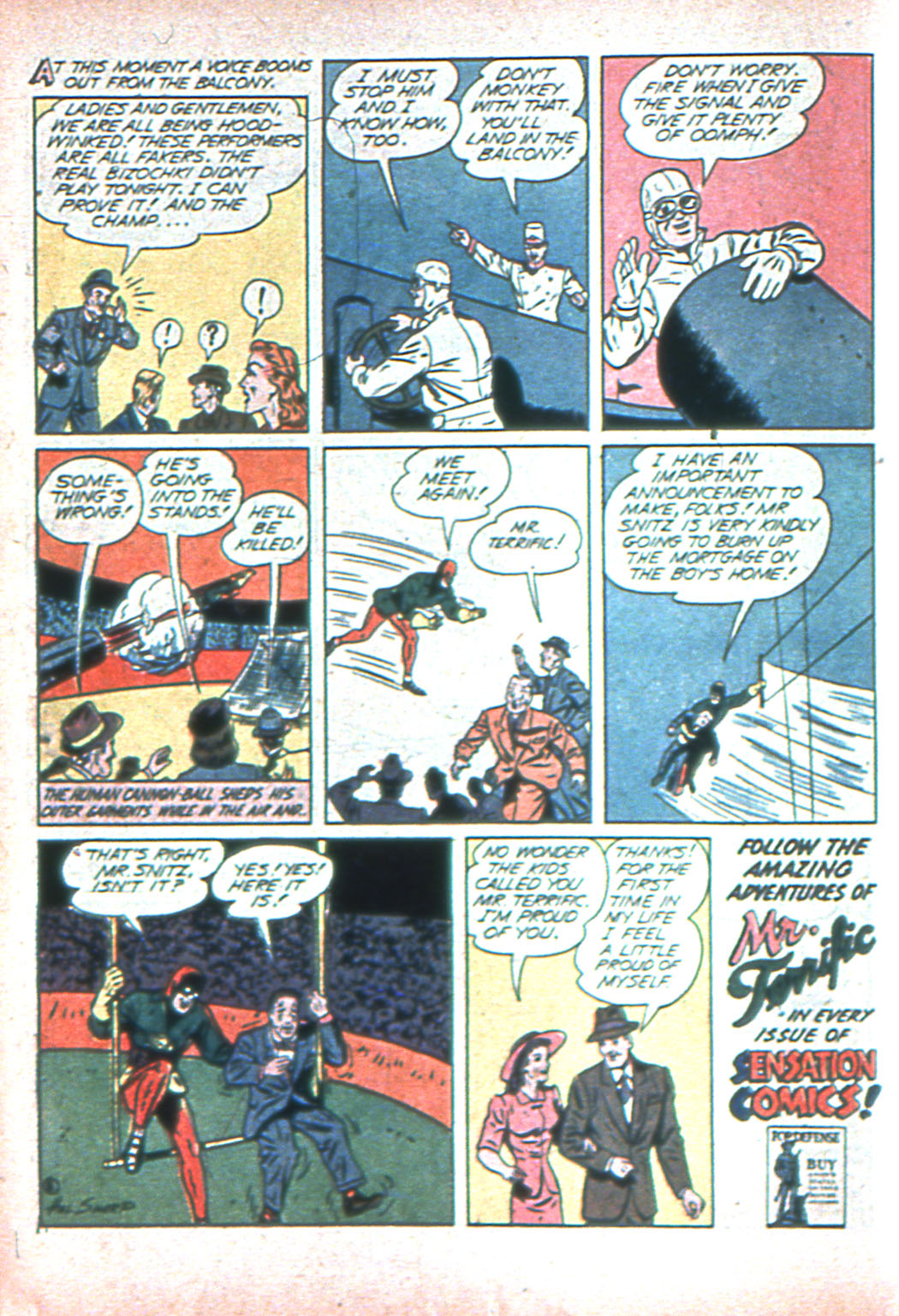 Read online Sensation (Mystery) Comics comic -  Issue #2 - 32