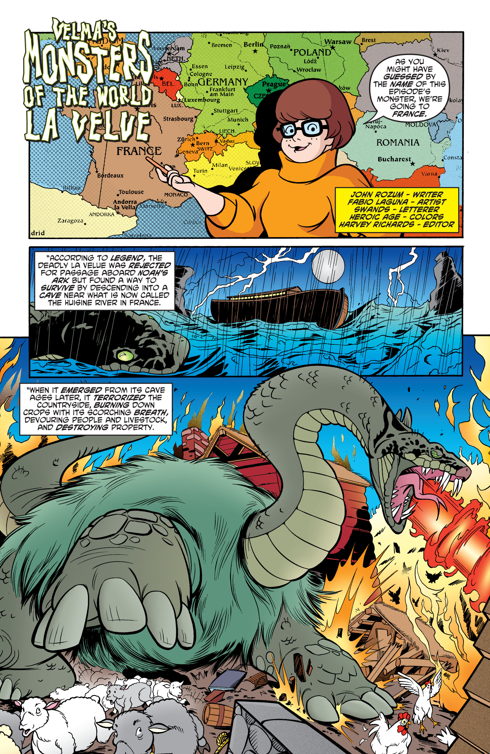 Read online Scooby-Doo: Where Are You? comic -  Issue #72 - 12