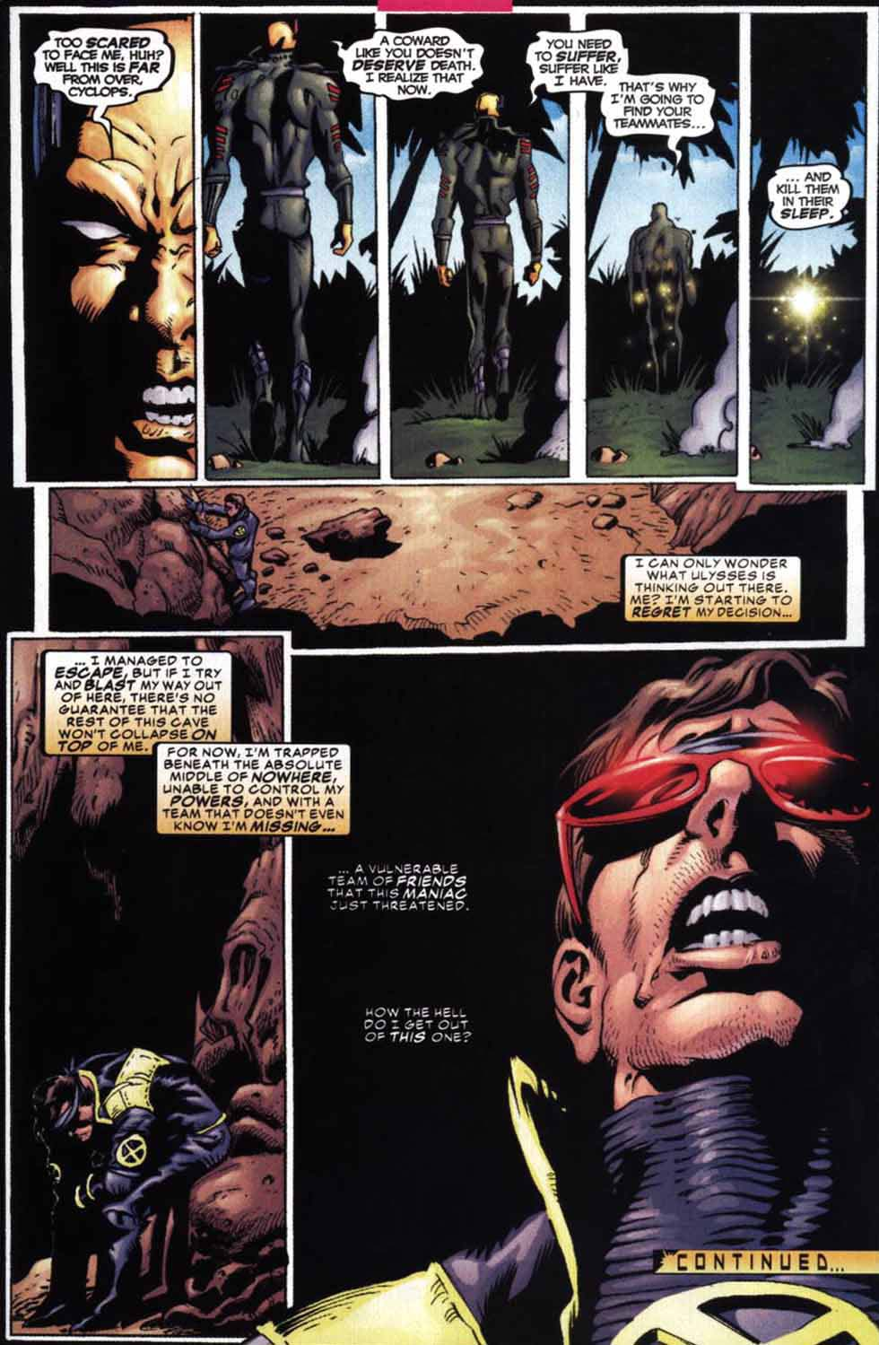 Read online Cyclops (2001) comic -  Issue #2 - 23