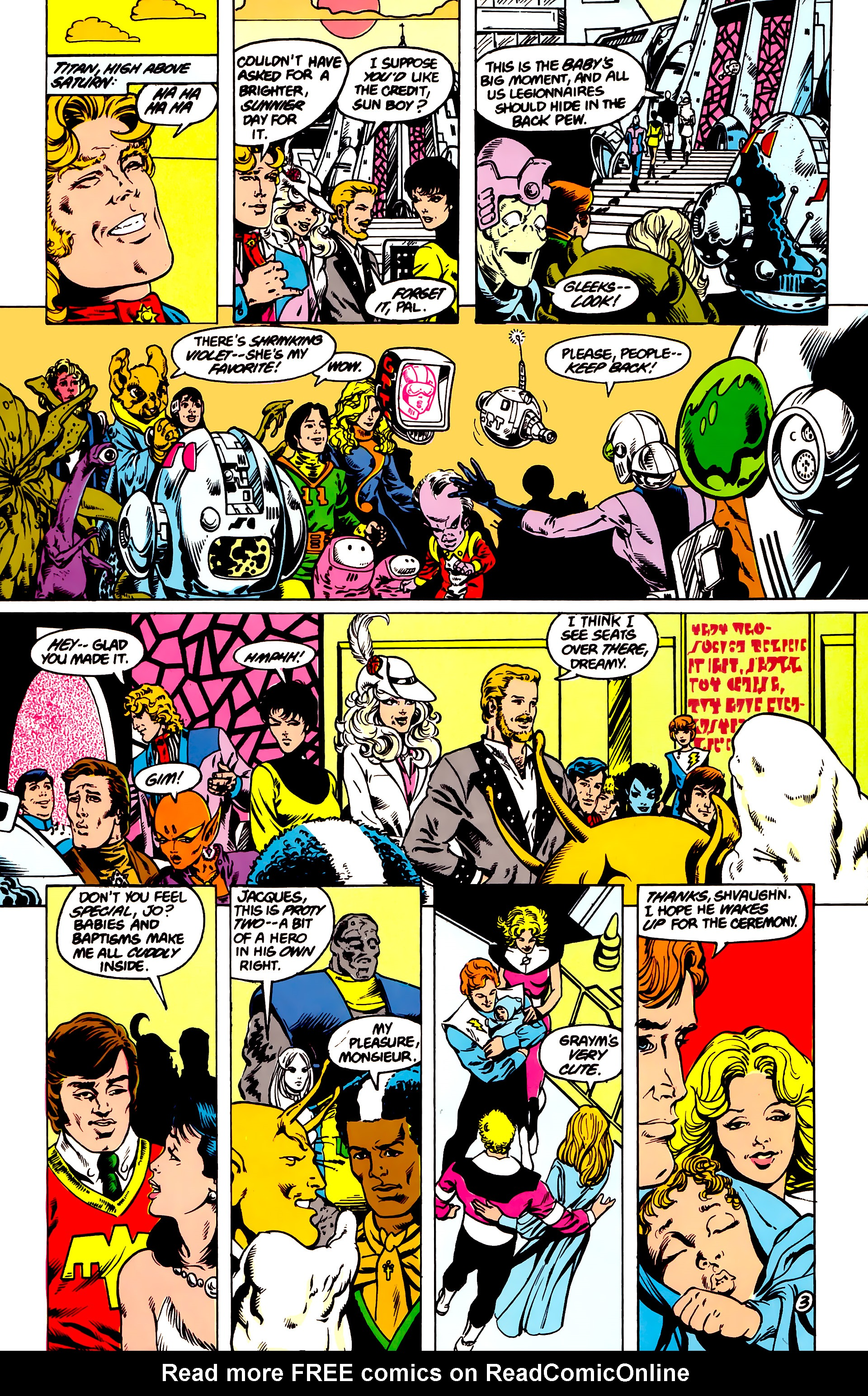 Legion of Super-Heroes (1984) 16 Page 4