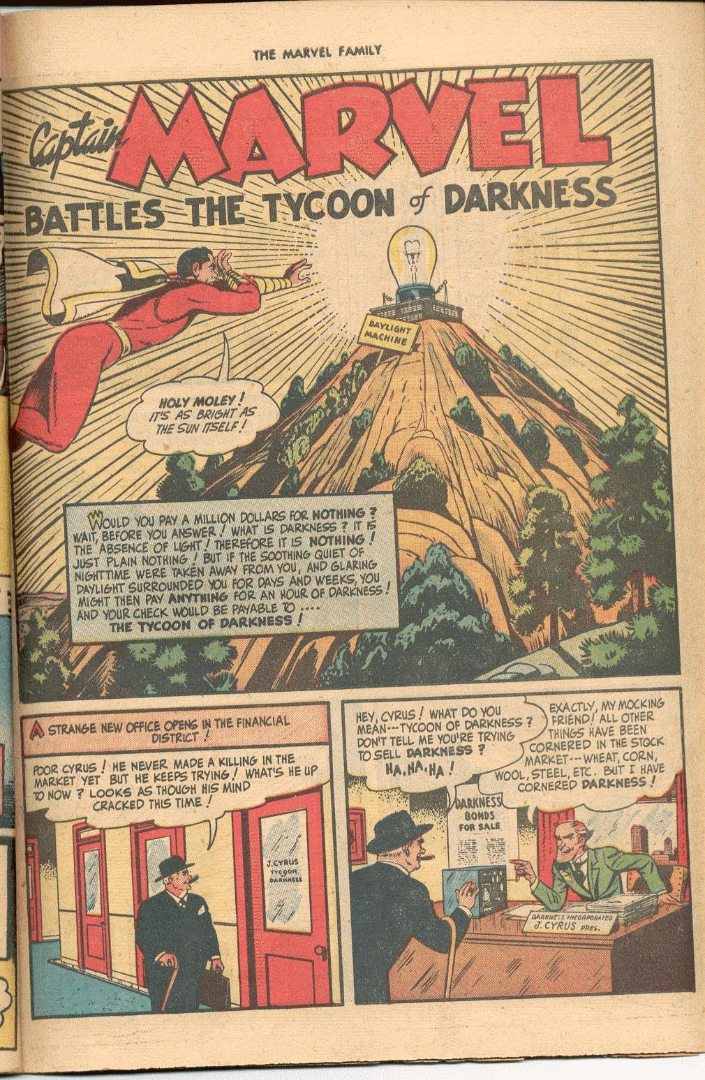 The Marvel Family issue 38 - Page 41