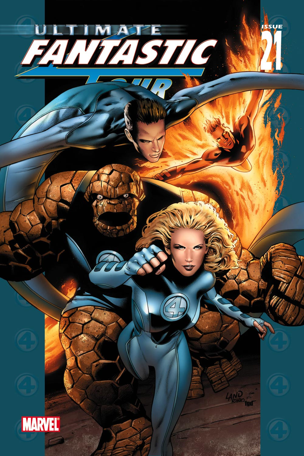 Read online Ultimate Fantastic Four (2004) comic -  Issue #21 - 1