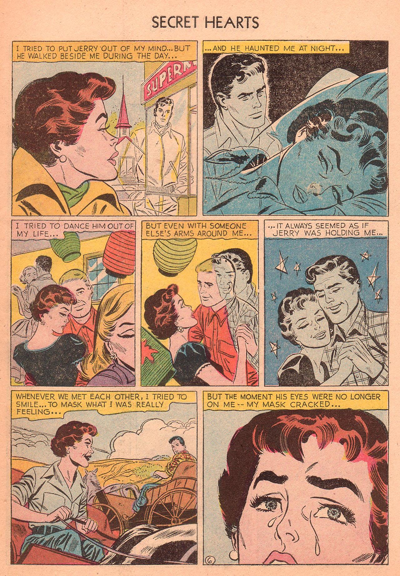 Read online Secret Hearts comic -  Issue #27 - 31