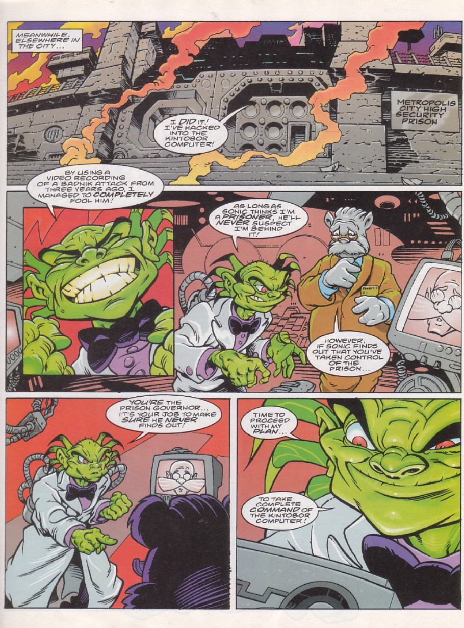 Read online Sonic the Comic comic -  Issue #143 - 5