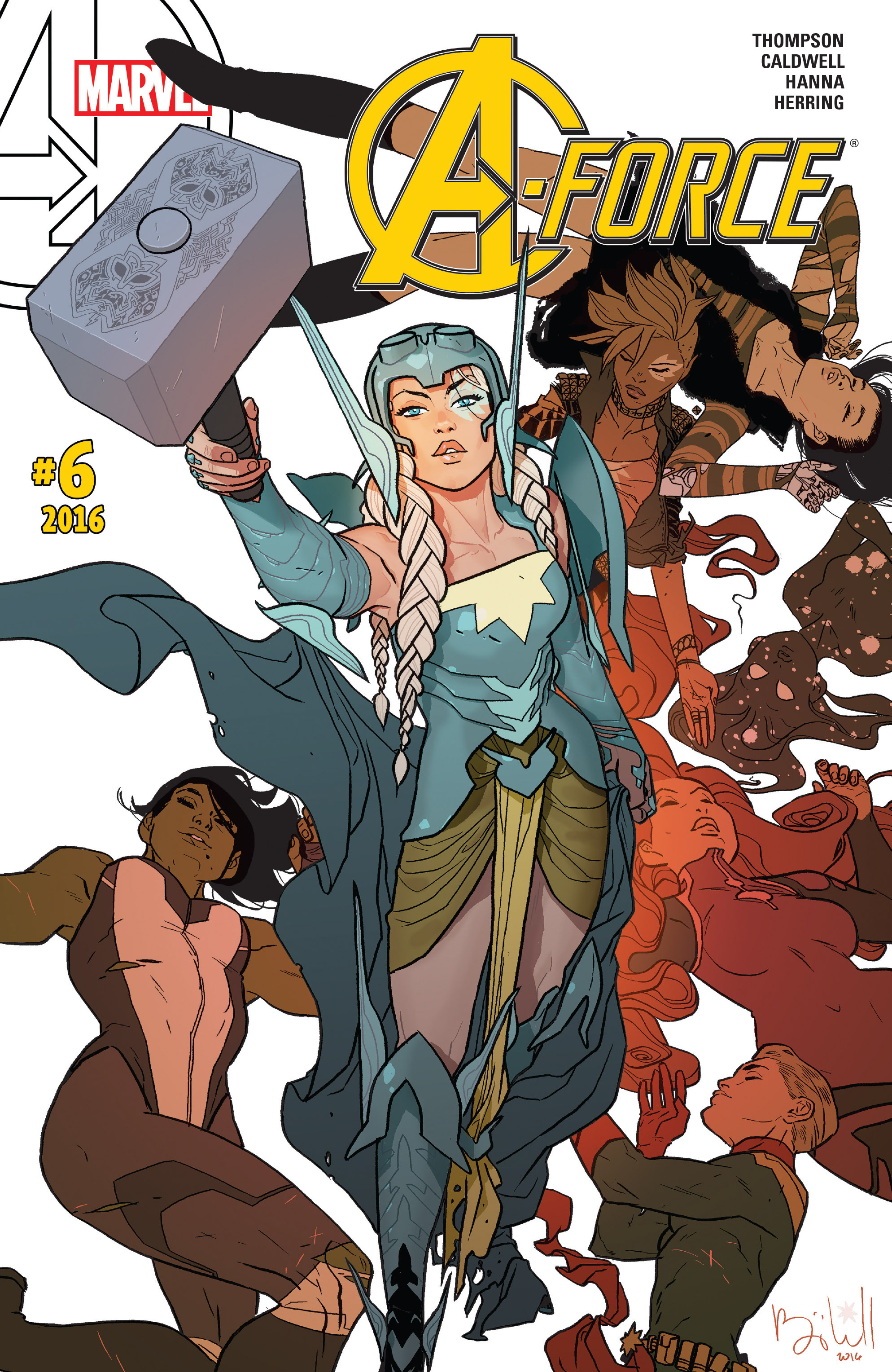 Read online A-Force (2016) comic -  Issue #6 - 1