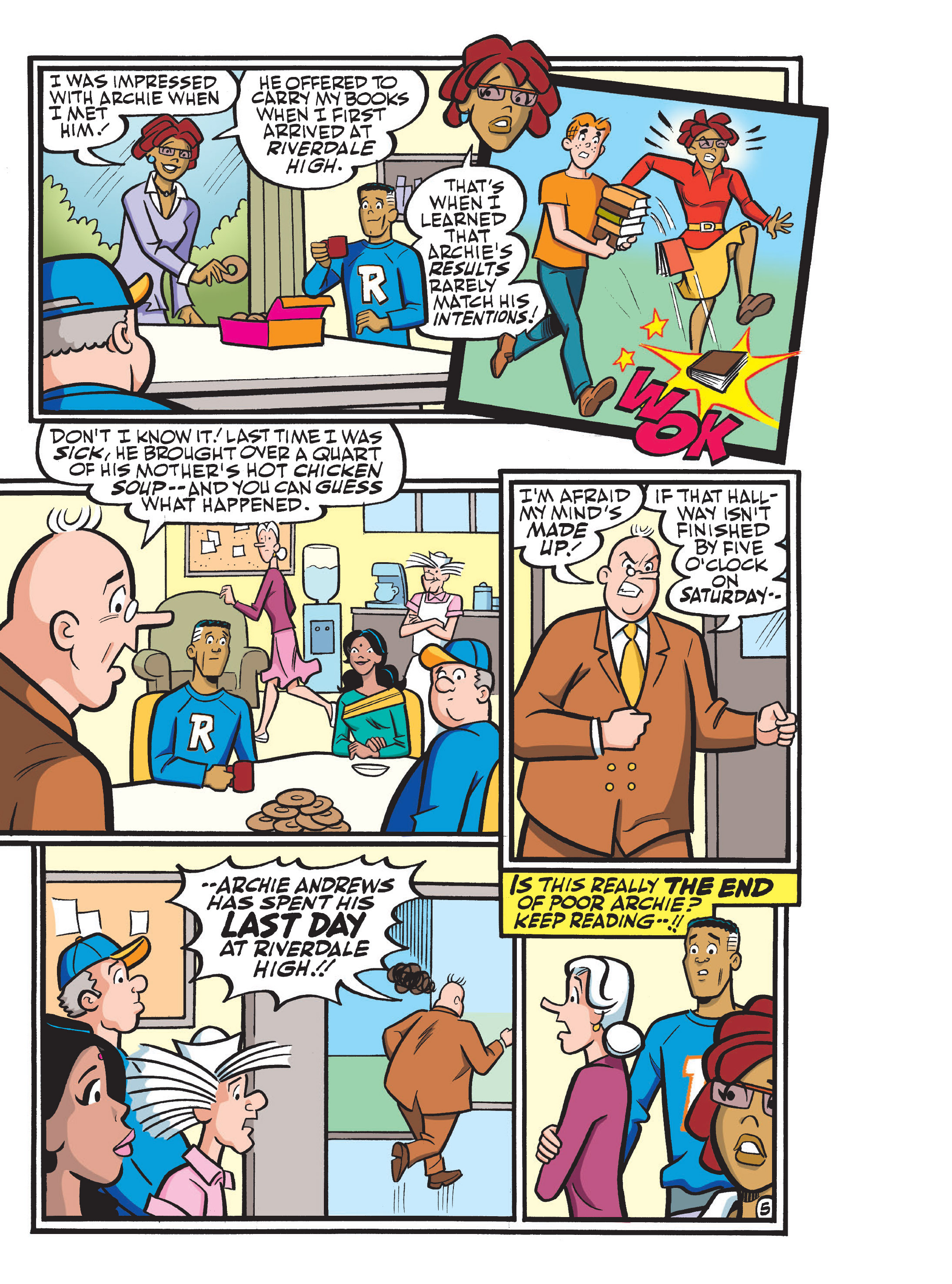 Read online Archie 75th Anniversary Digest comic -  Issue #1 - 193