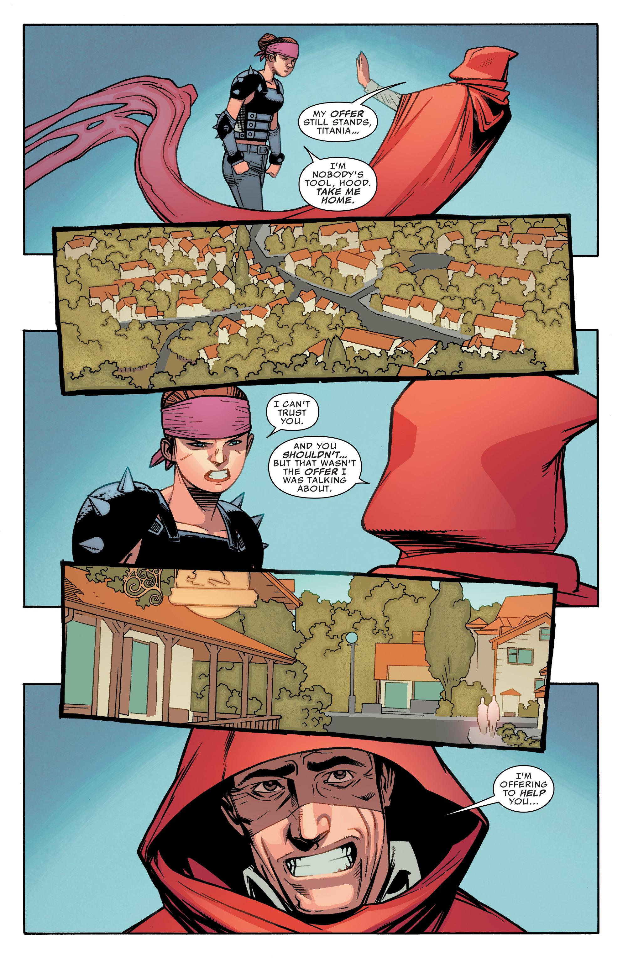 Read online Illuminati comic -  Issue #5 - 21