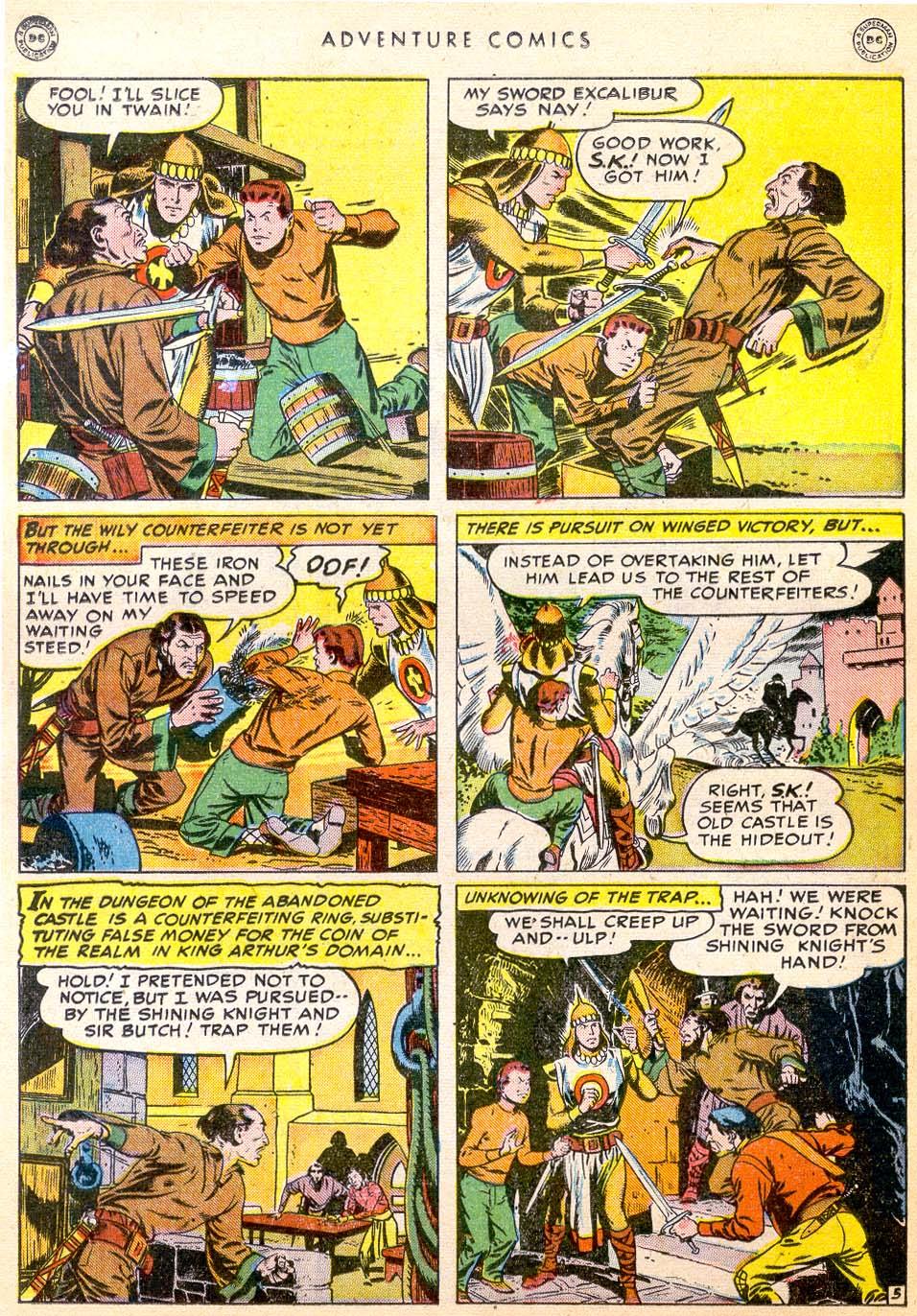 Read online Adventure Comics (1938) comic -  Issue #144 - 25