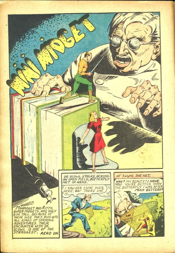 Read online Amazing Man Comics comic -  Issue #25 - 16