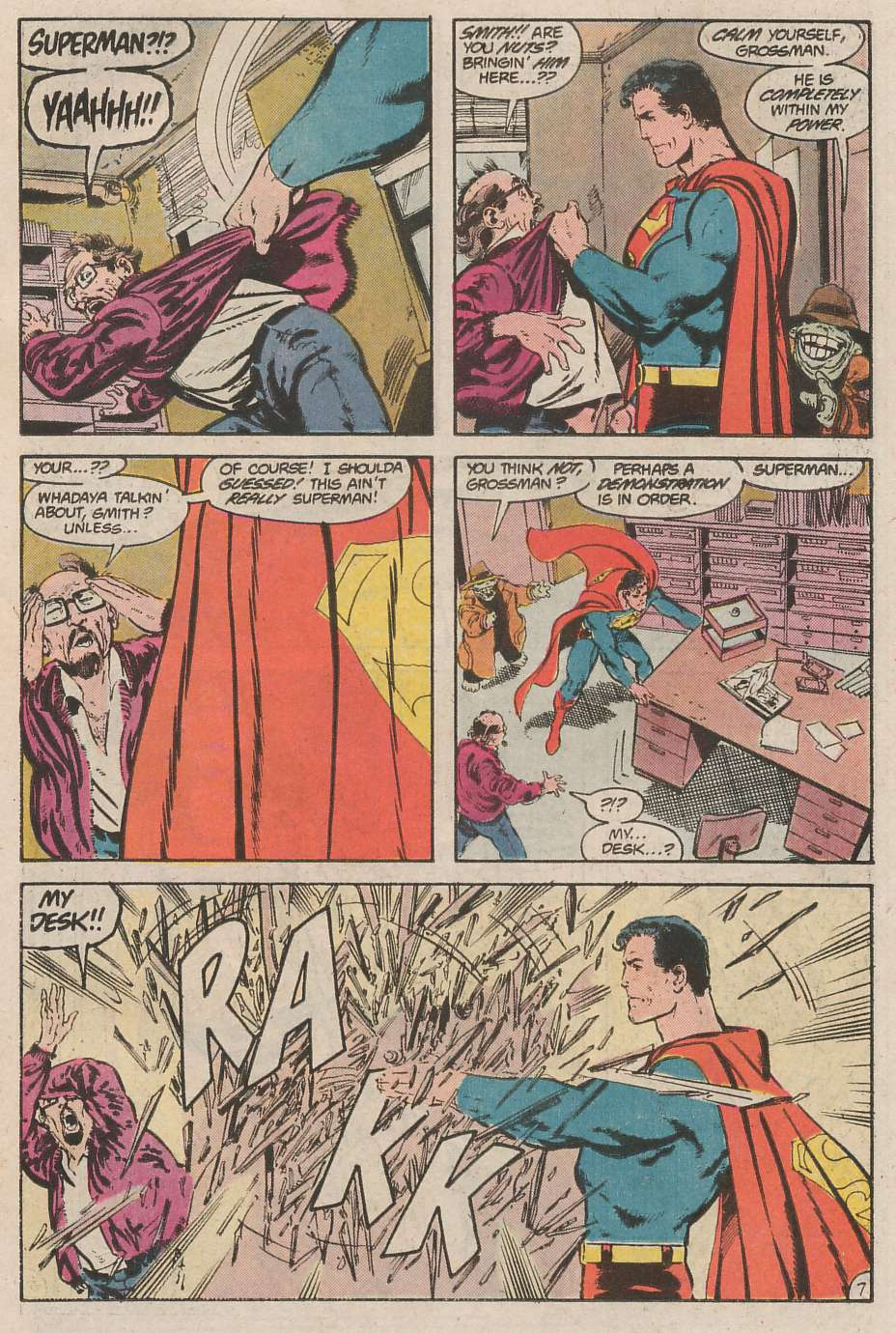 Read online Action Comics (1938) comic -  Issue #593 - 8