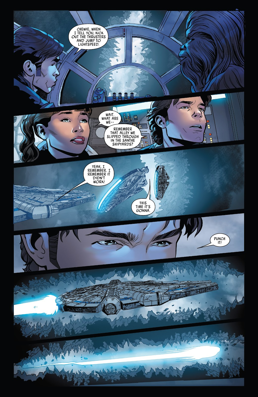 Read online Solo: A Star Wars Story Adaptation comic -  Issue #5 - 16