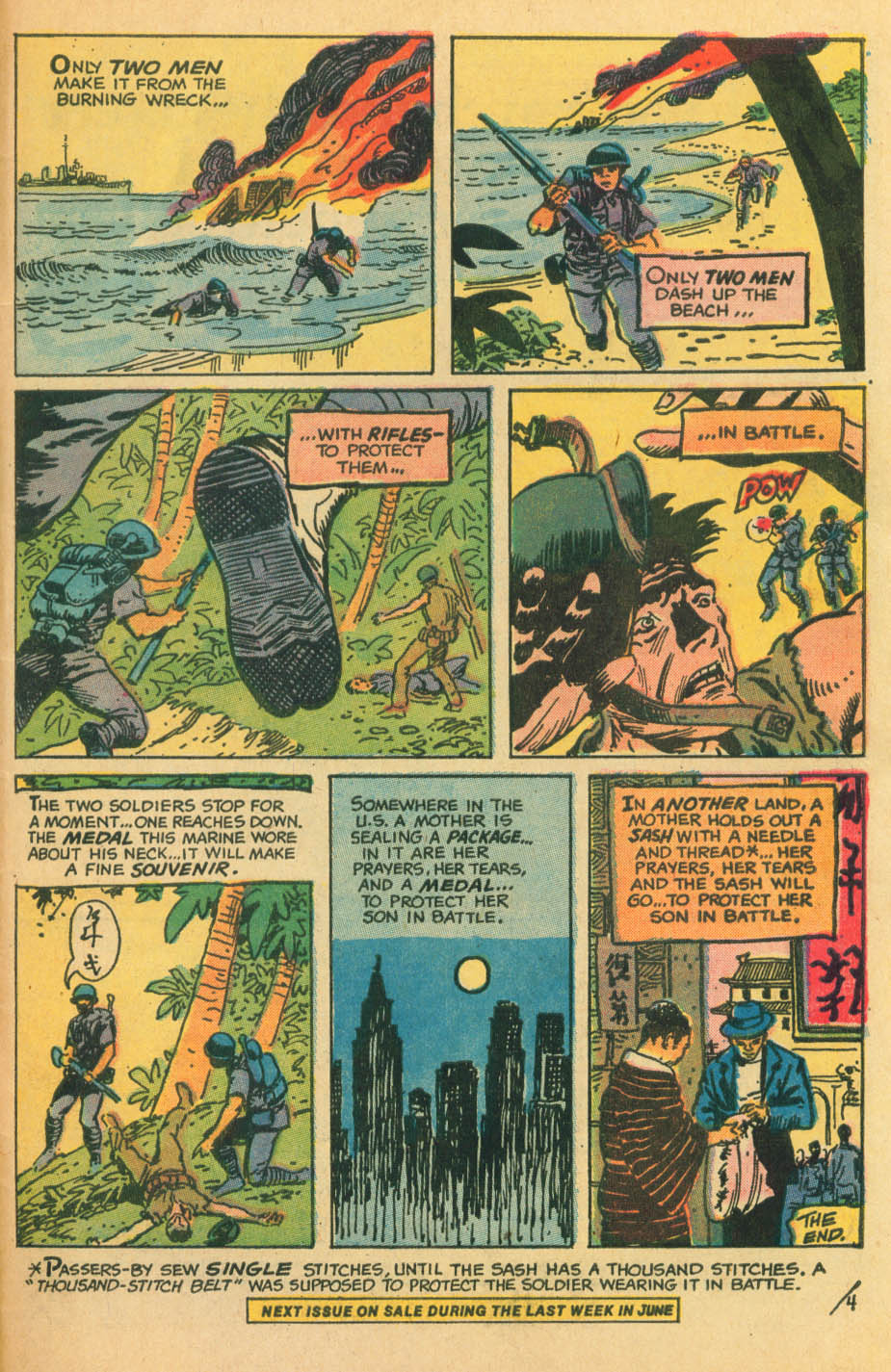 Read online Star Spangled War Stories (1952) comic -  Issue #172 - 22