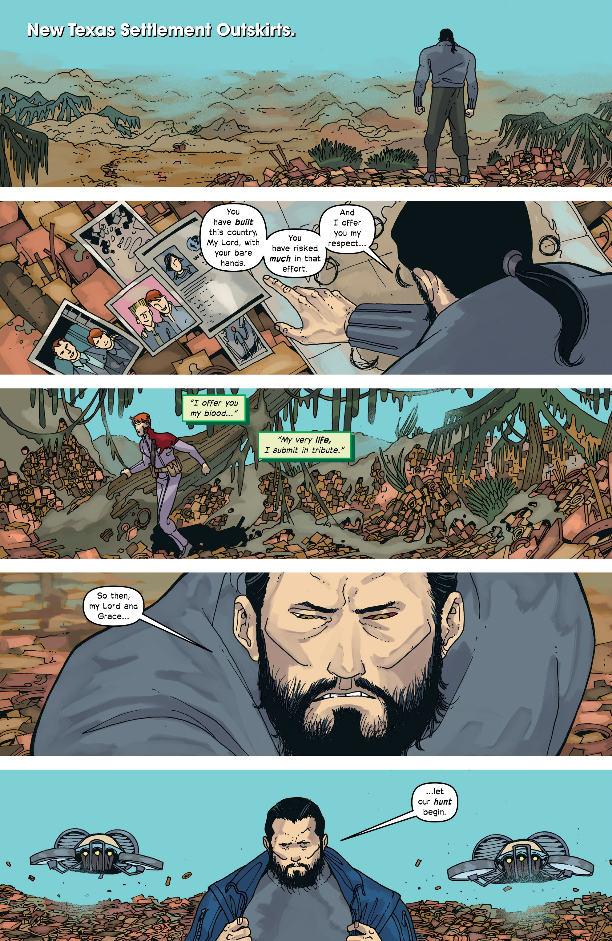 Read online Great Pacific comic -  Issue #17 - 15