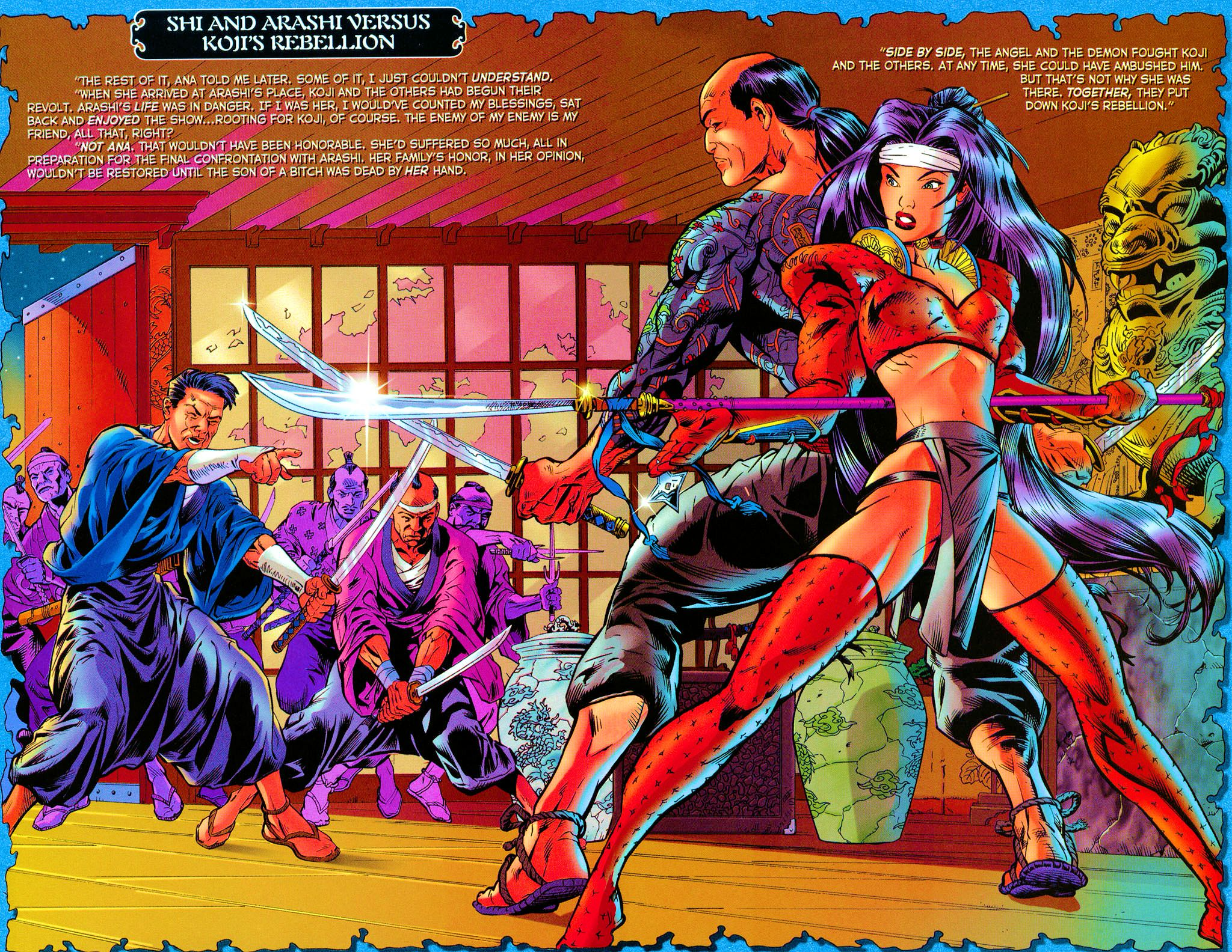 Read online Shi: Rekishi comic -  Issue #2 - 18