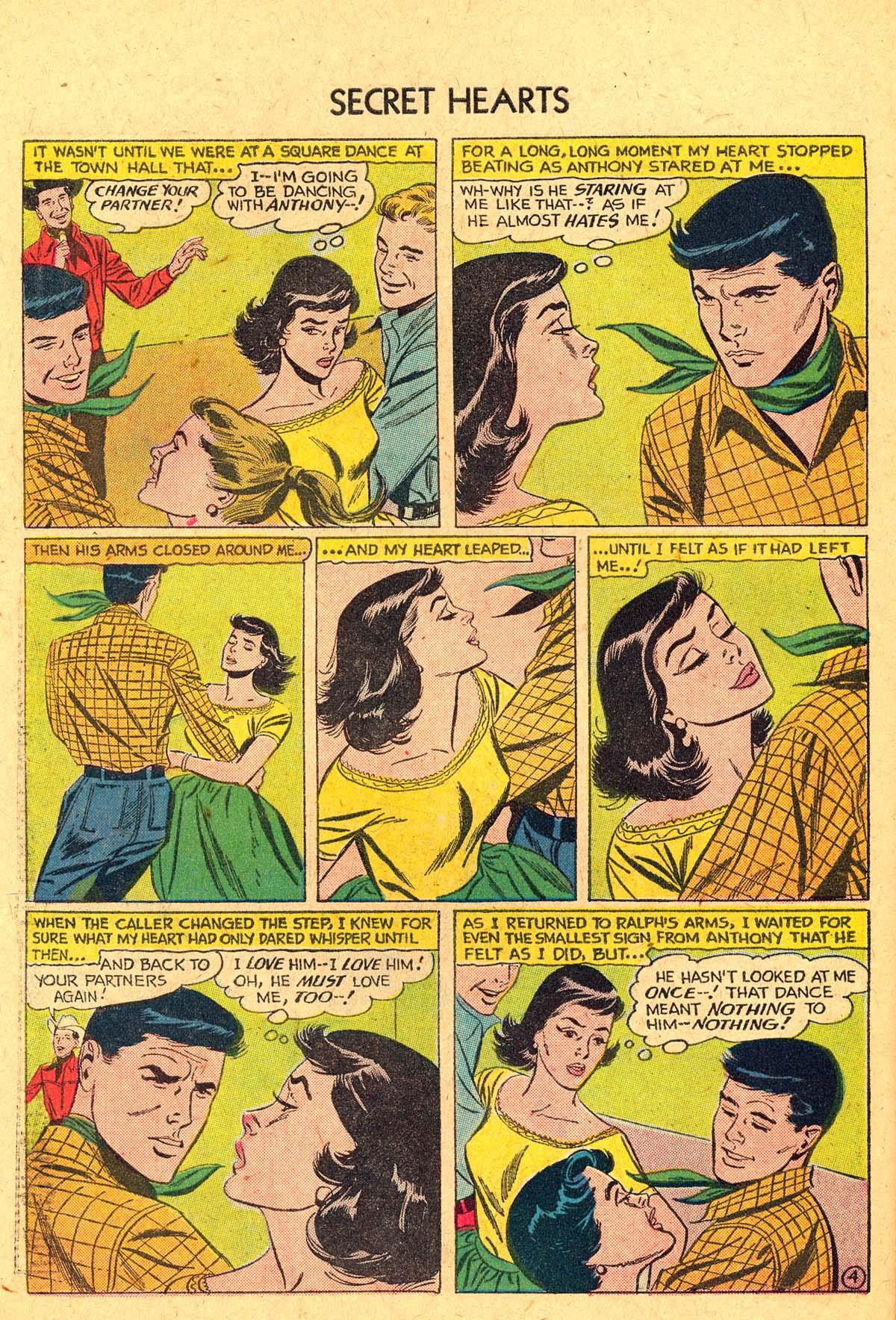 Read online Secret Hearts comic -  Issue #40 - 30