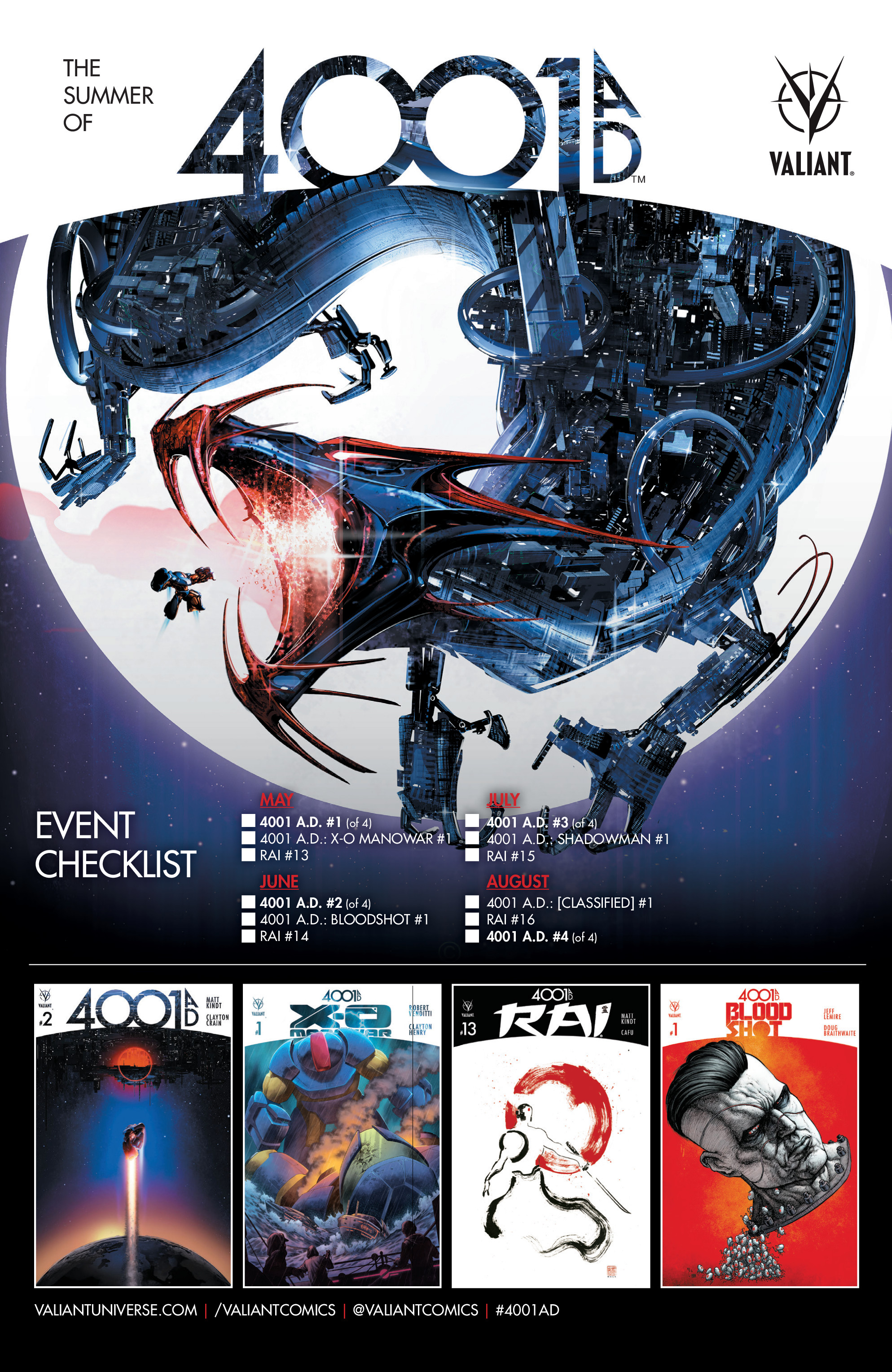 Read online 4001 A.D. comic -  Issue #4 - 29