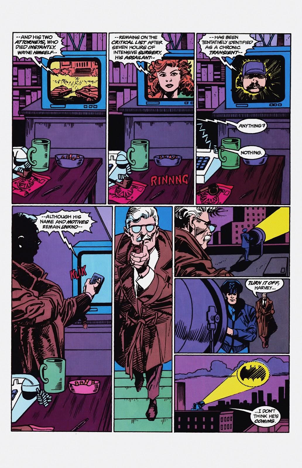Read online Detective Comics (1937) comic -  Issue # _TPB Batman - Blind Justice (Part 1) - 88
