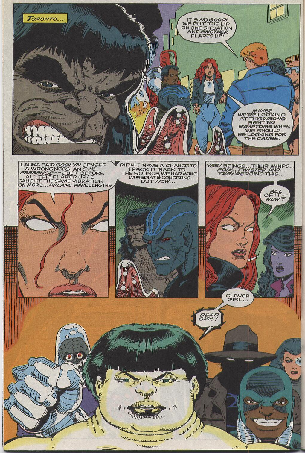 Read online Alpha Flight (1983) comic -  Issue #111 - 22