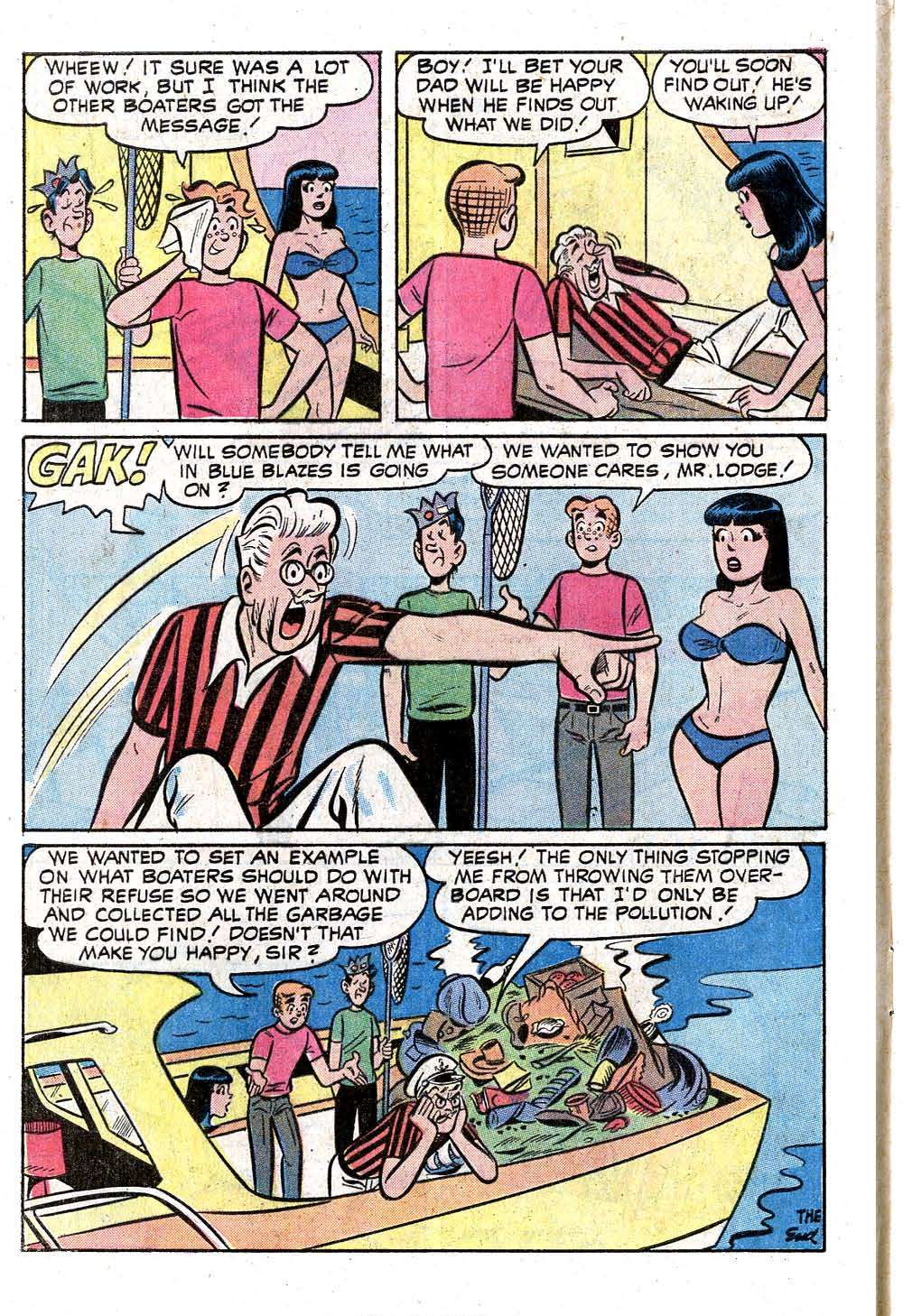 Read online Archie (1960) comic -  Issue #221 - 8