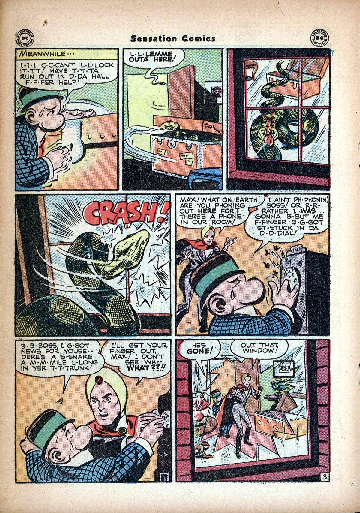 Read online Sensation (Mystery) Comics comic -  Issue #62 - 26