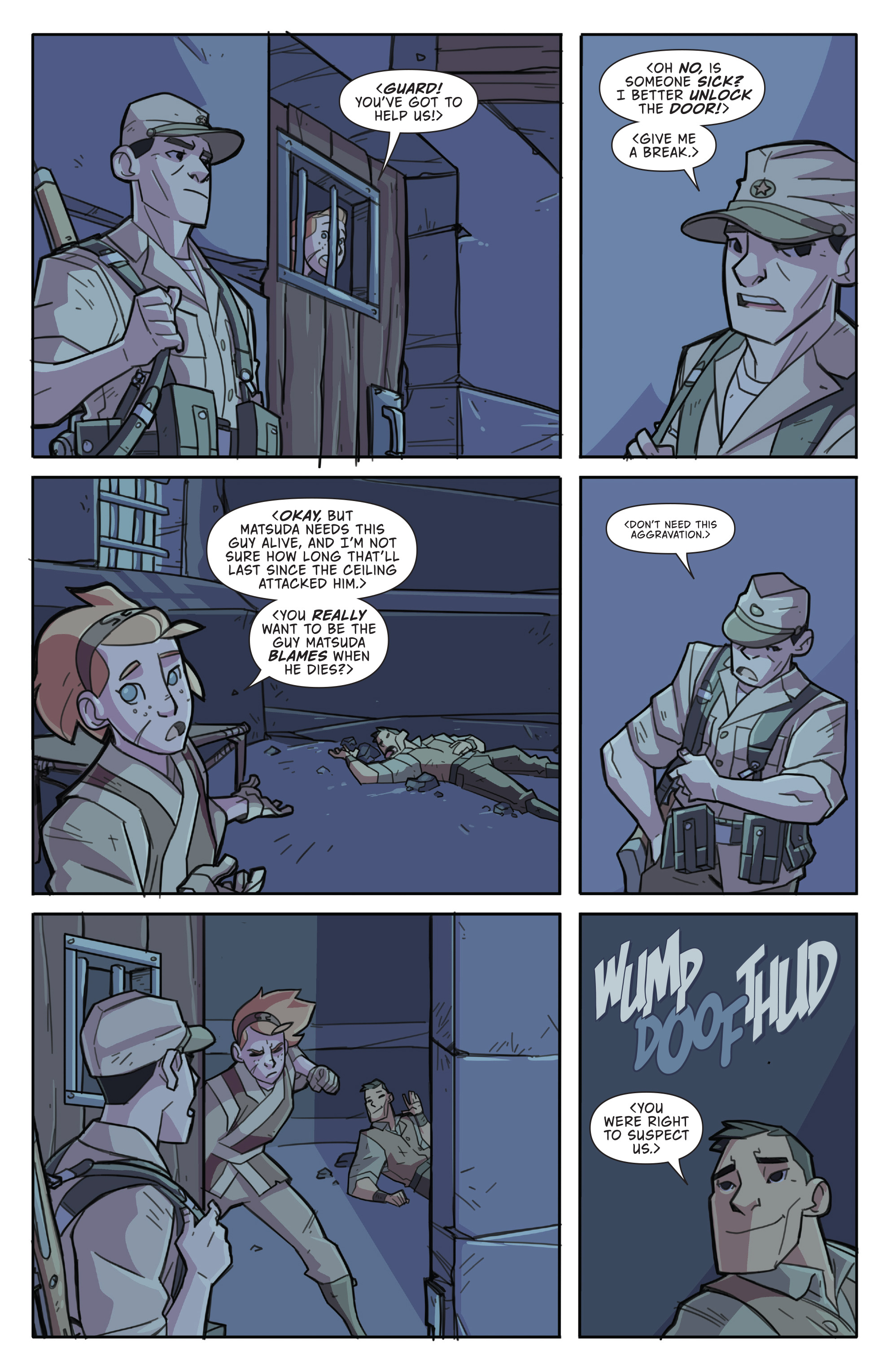 Read online Atomic Robo and the Temple of Od comic -  Issue #4 - 19