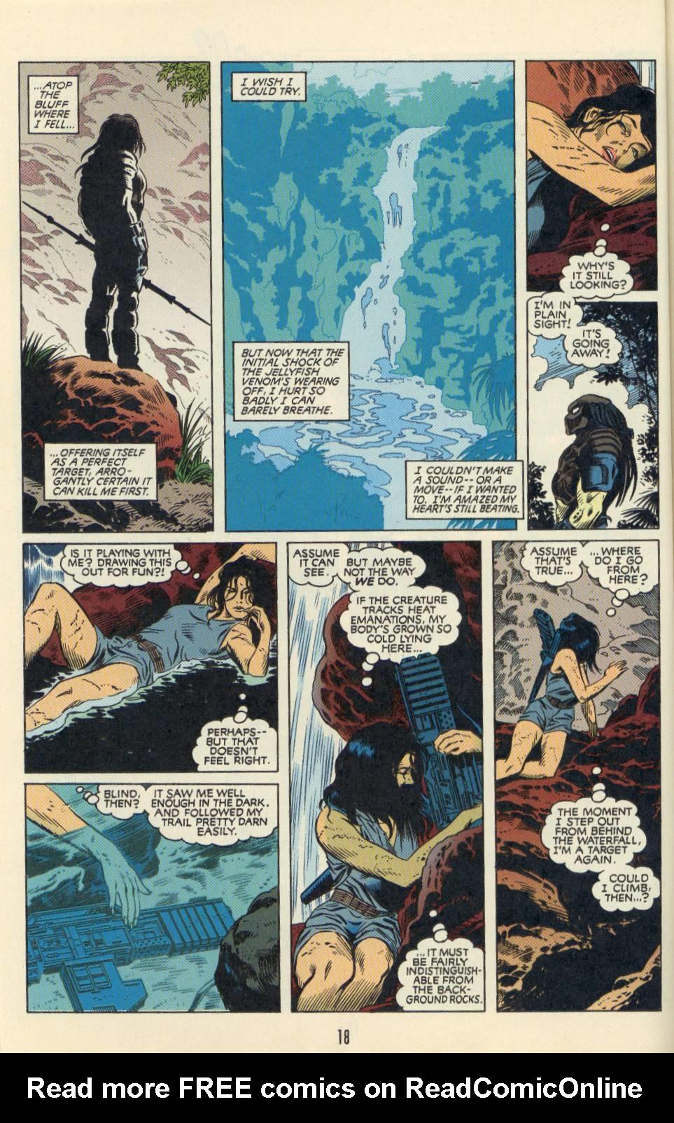 Read online Aliens/Predator: The Deadliest of the Species comic -  Issue #2 - 19