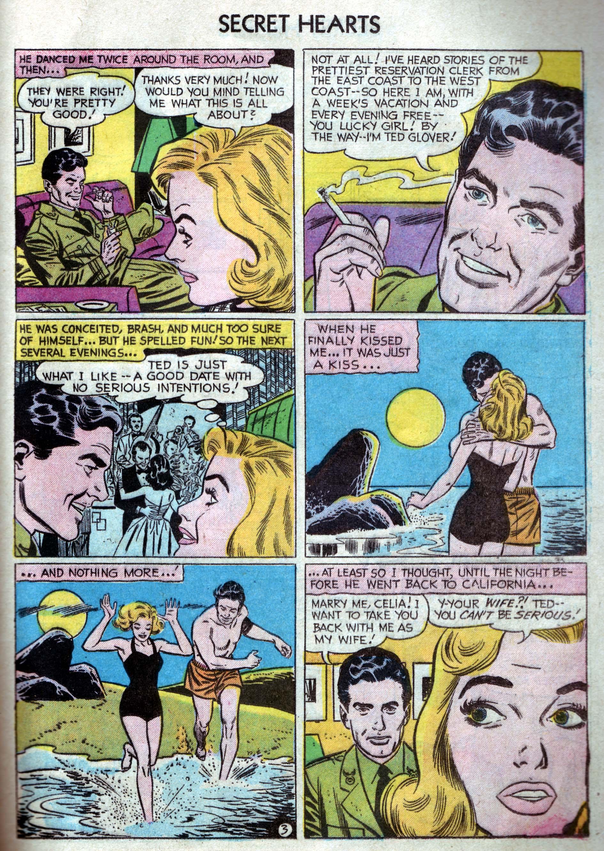 Read online Secret Hearts comic -  Issue #33 - 21