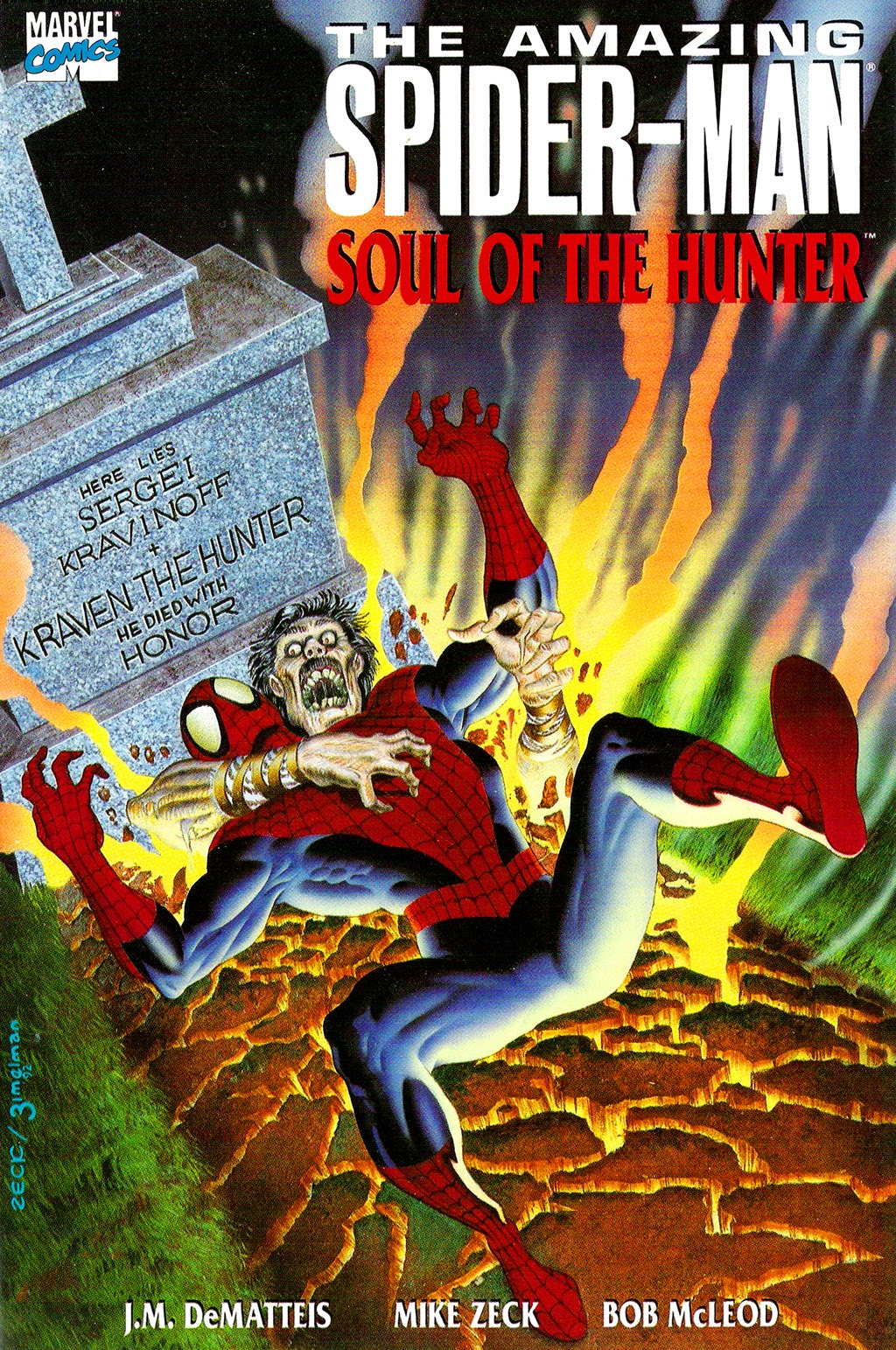 Read online The Amazing Spider-Man: Soul of the Hunter comic -  Issue # Full - 1