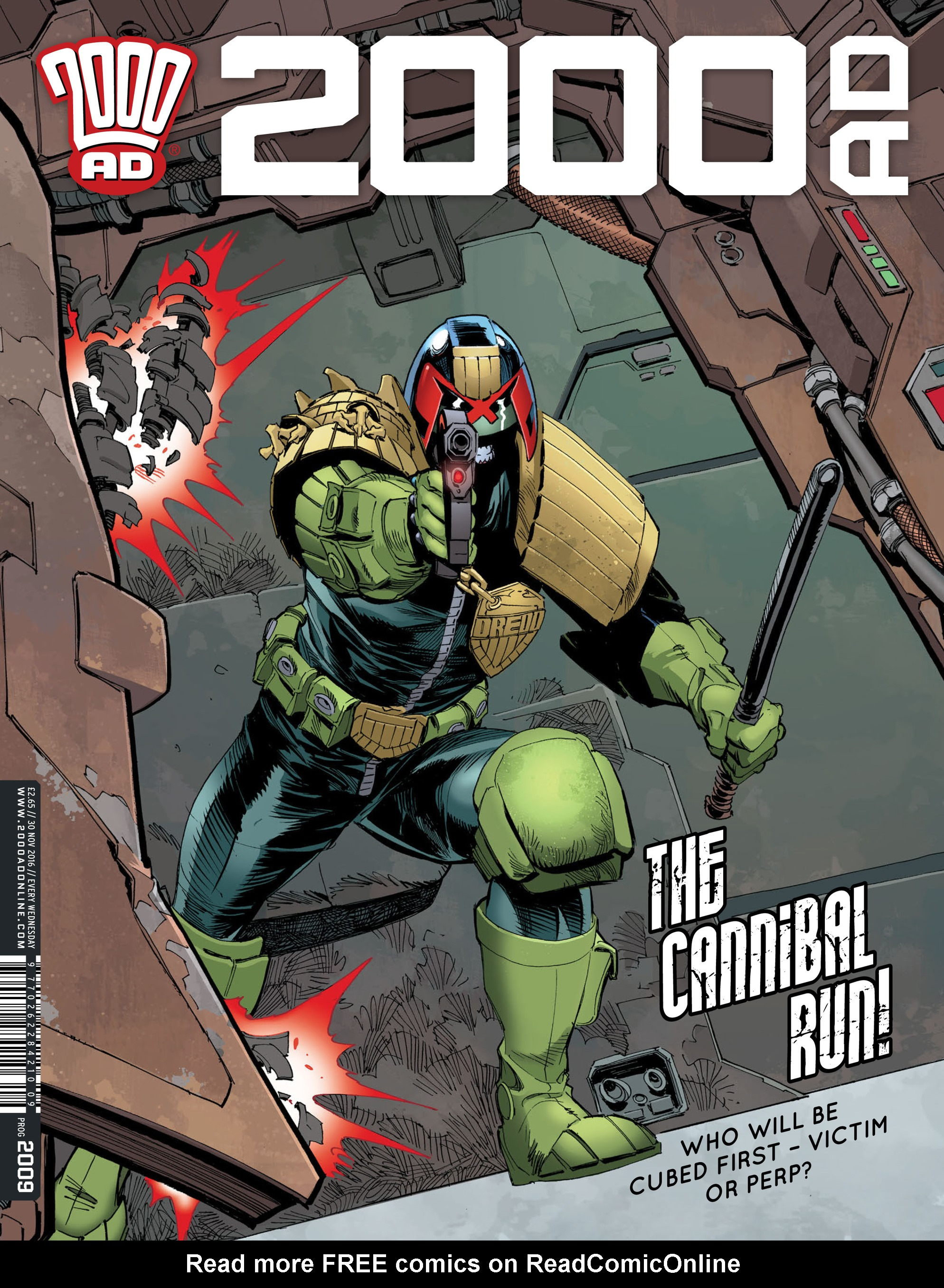 Read online 2000 AD comic -  Issue #2009 - 1