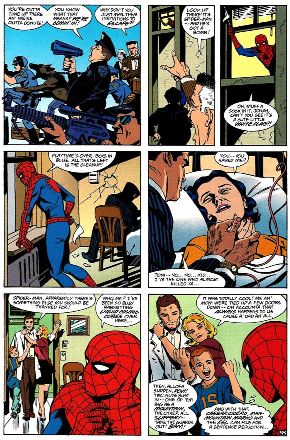 Read online Spider-Man: Lifeline comic -  Issue #3 - 22