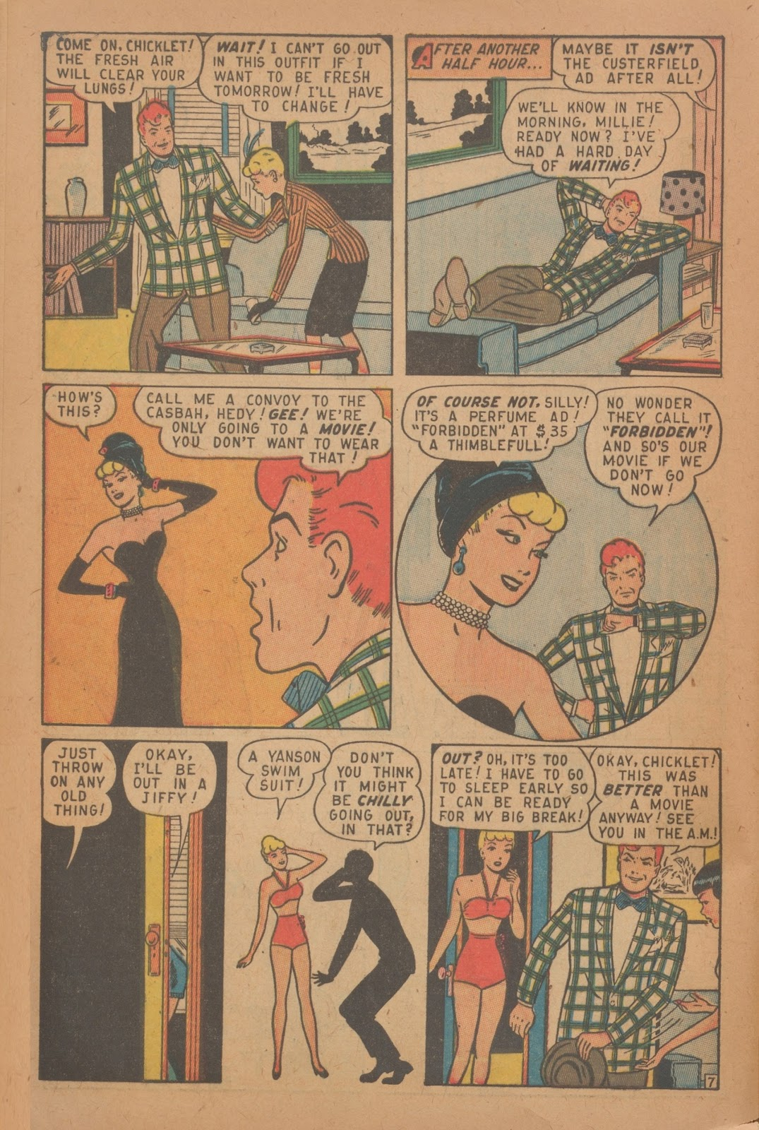 Read online Nellie The Nurse (1945) comic -  Issue #9 - 40