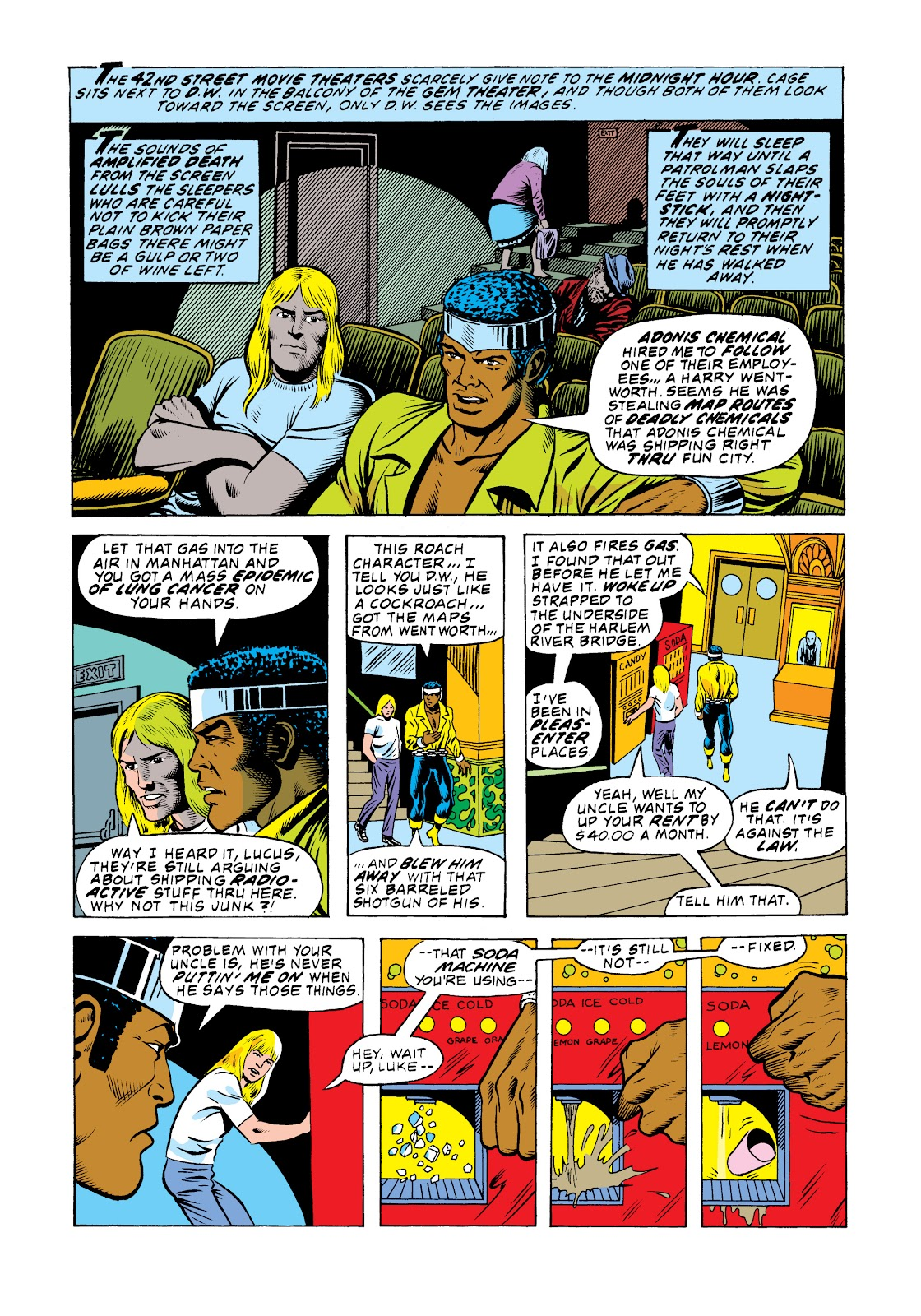 Read online Marvel Masterworks: Luke Cage, Power Man comic -  Issue # TPB 2 (Part 3) - 64