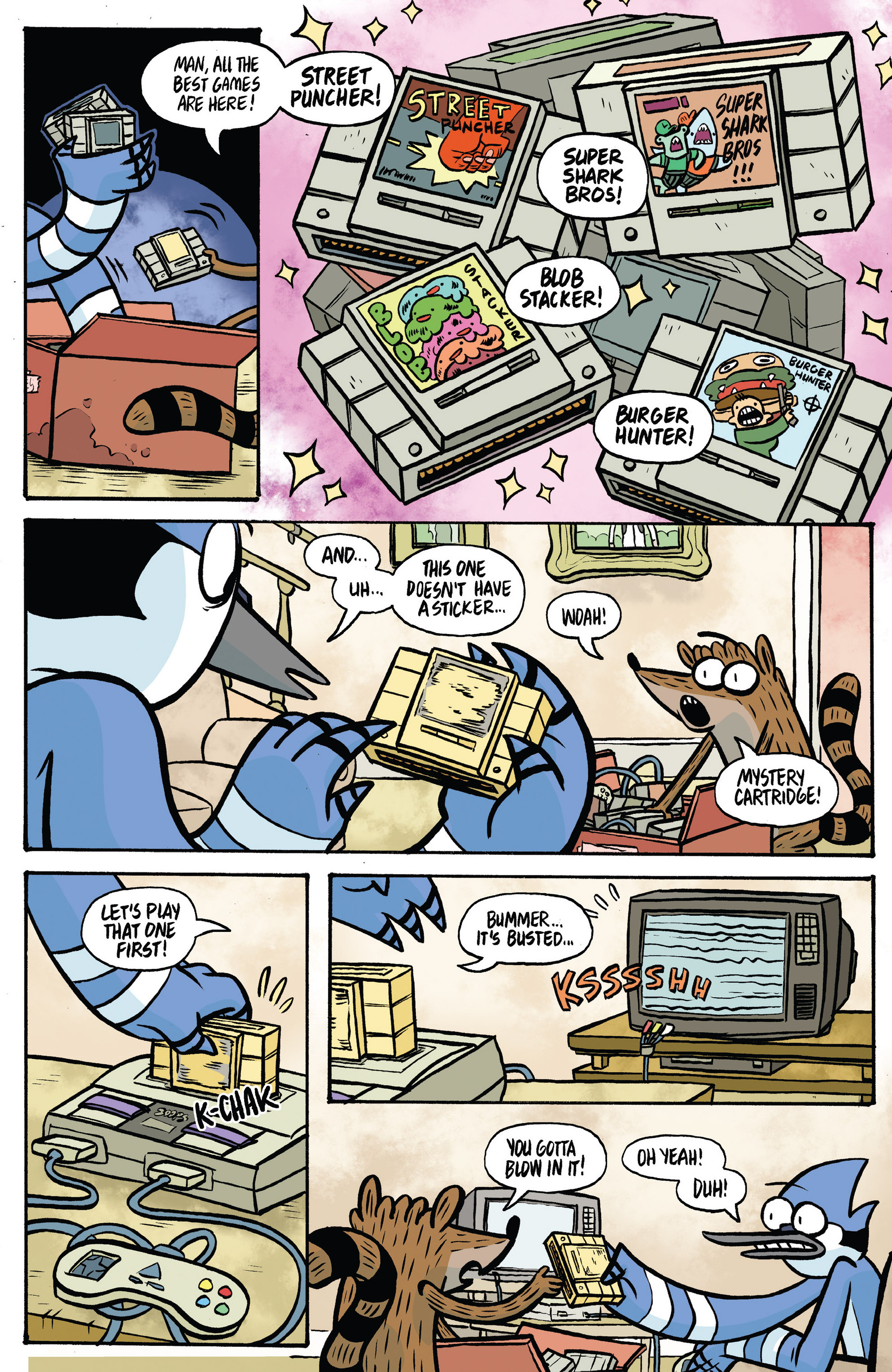 Read online Regular Show comic -  Issue # _Annual 1 - 16