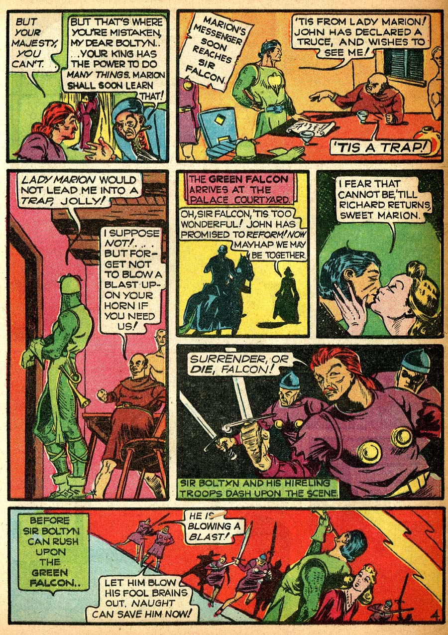 Blue Ribbon Comics (1939) issue 8 - Page 64