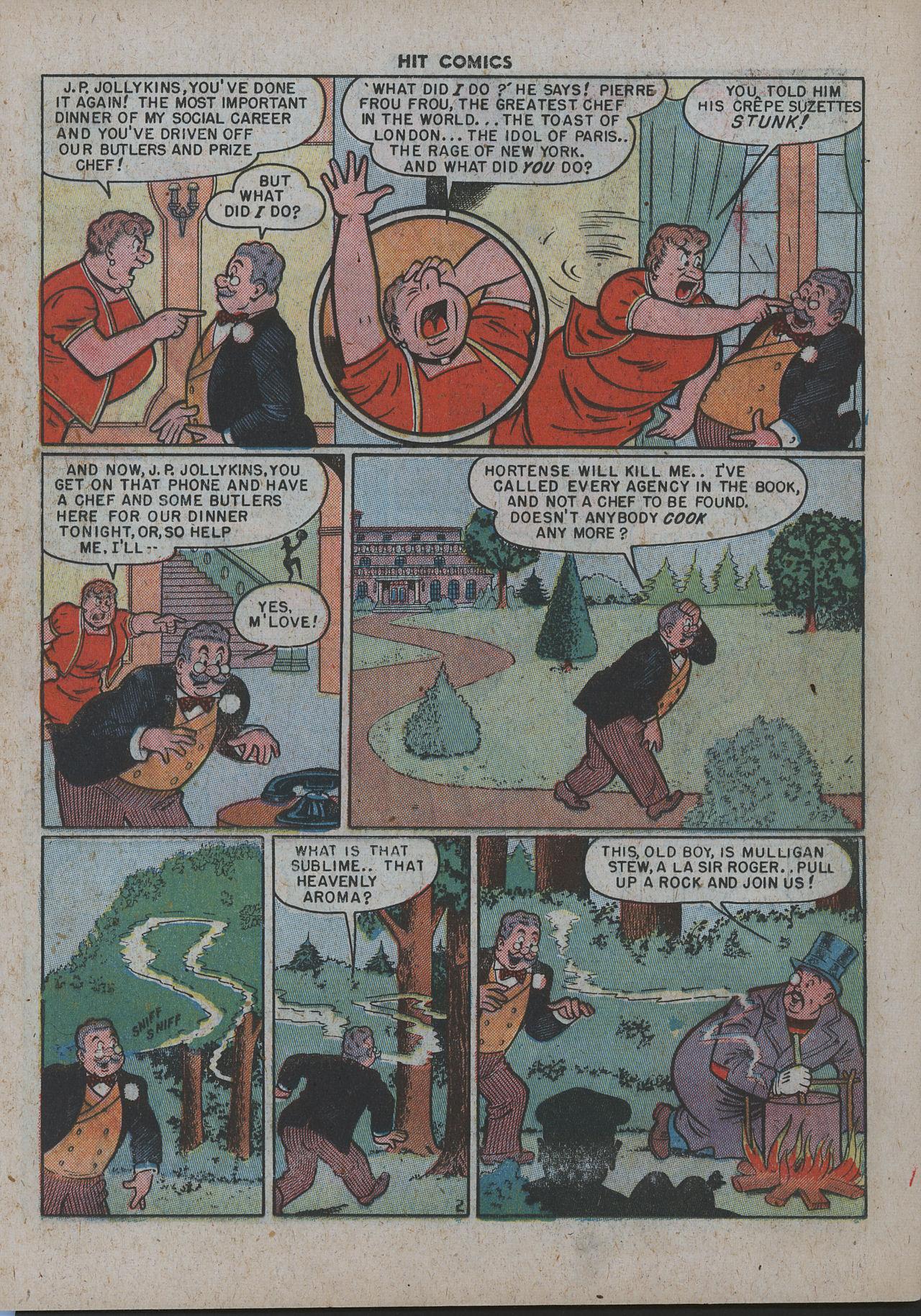 Read online Hit Comics comic -  Issue #63 - 17