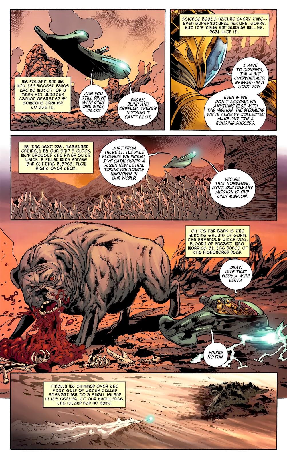 Warriors Three Issue #1 #1 - English 13