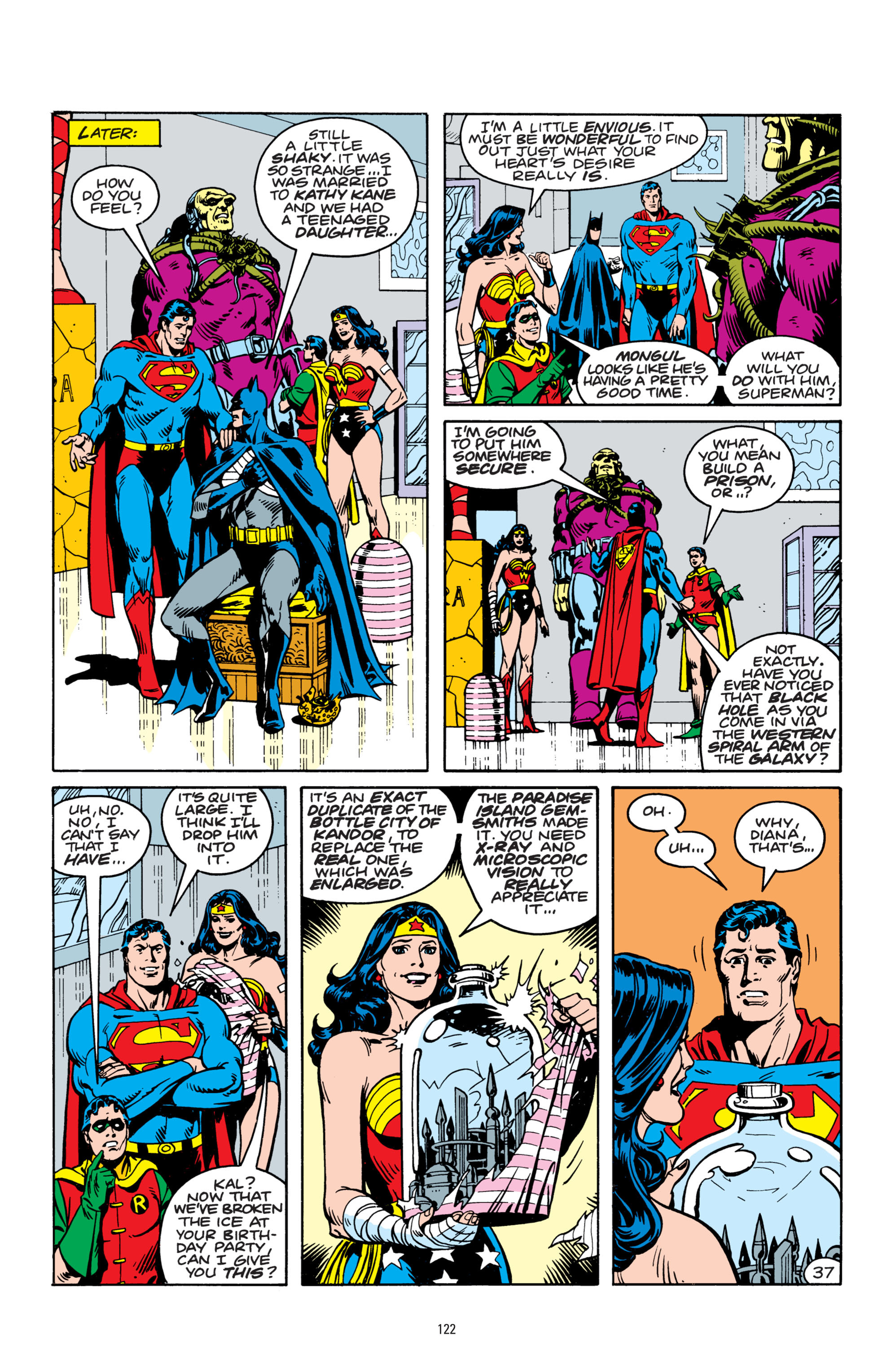 Read online Superman: Whatever Happened to the Man of Tomorrow? comic -  Issue # TPB - 121
