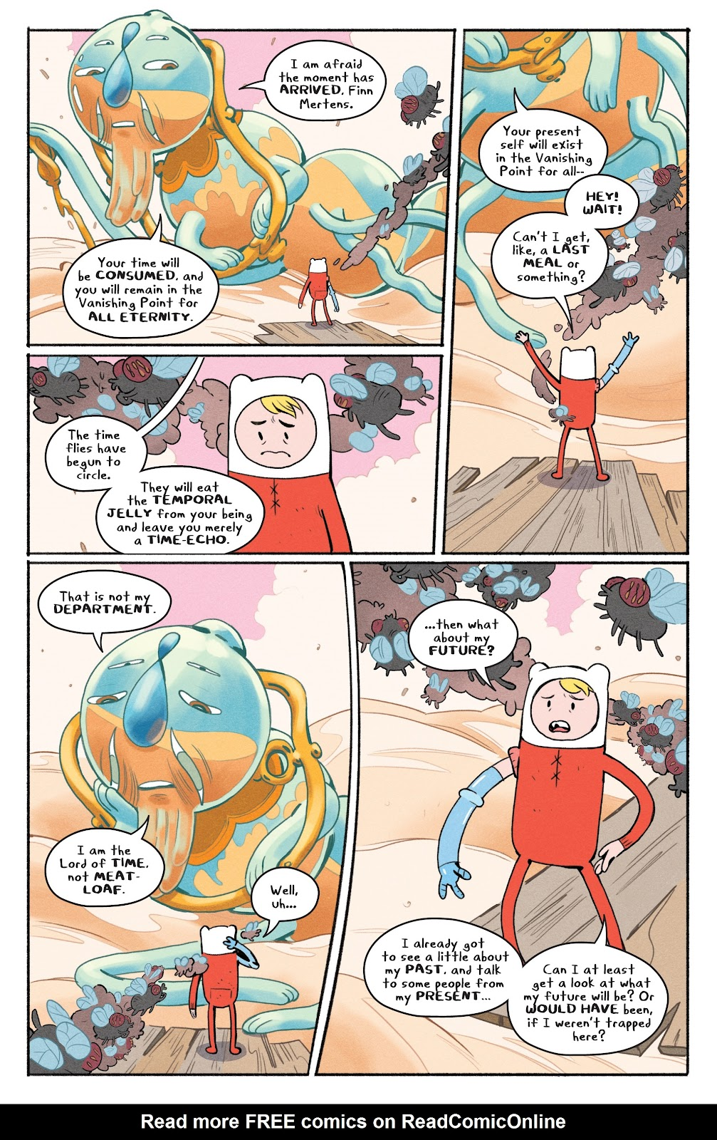Read online Adventure Time: Beginning of the End comic -  Issue # _TPB - 55