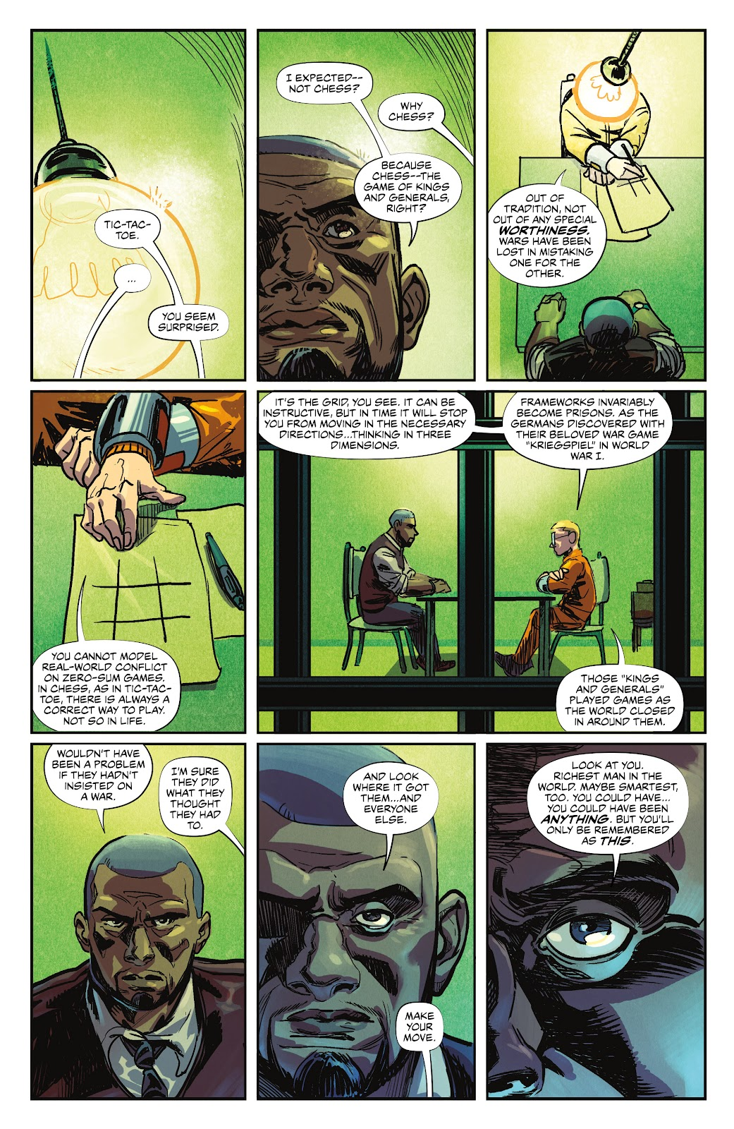 Read online Maxwell's Demons comic -  Issue #4 - 32
